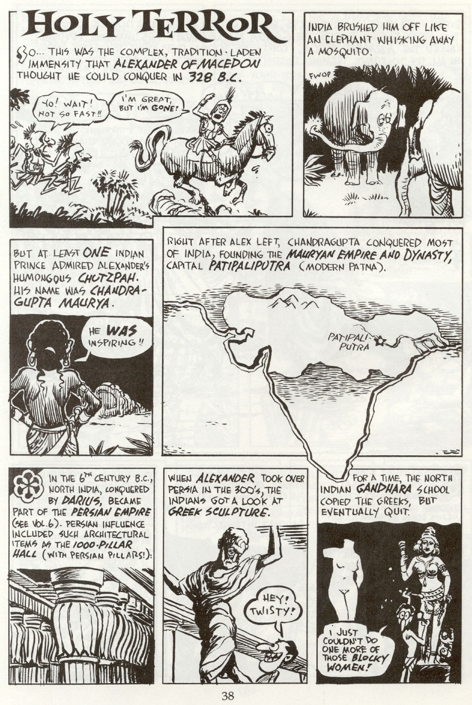 Read online The Cartoon History of the Universe comic -  Issue #8 - 41