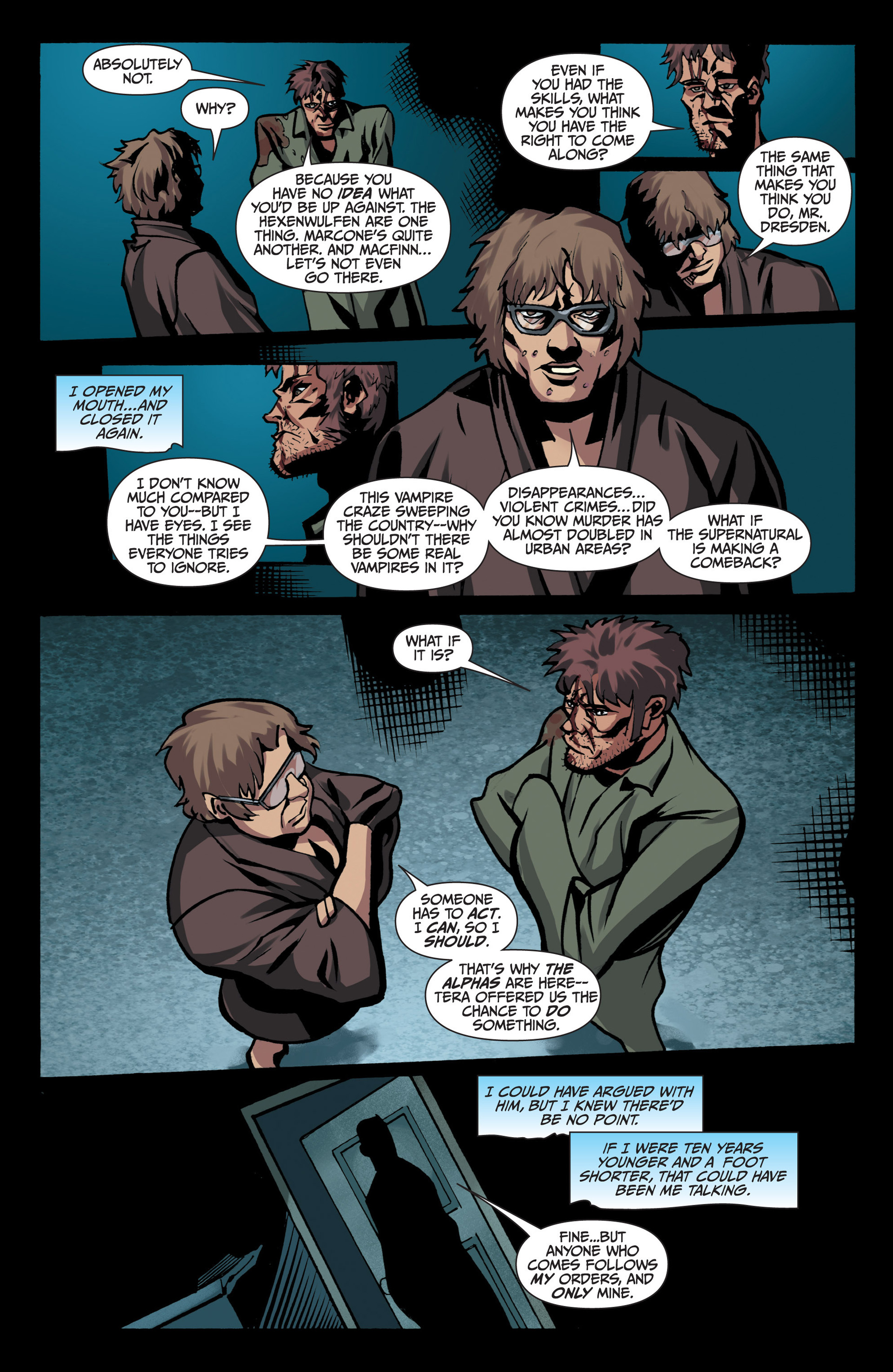 Read online Jim Butcher's The Dresden Files: Fool Moon comic -  Issue #7 - 16