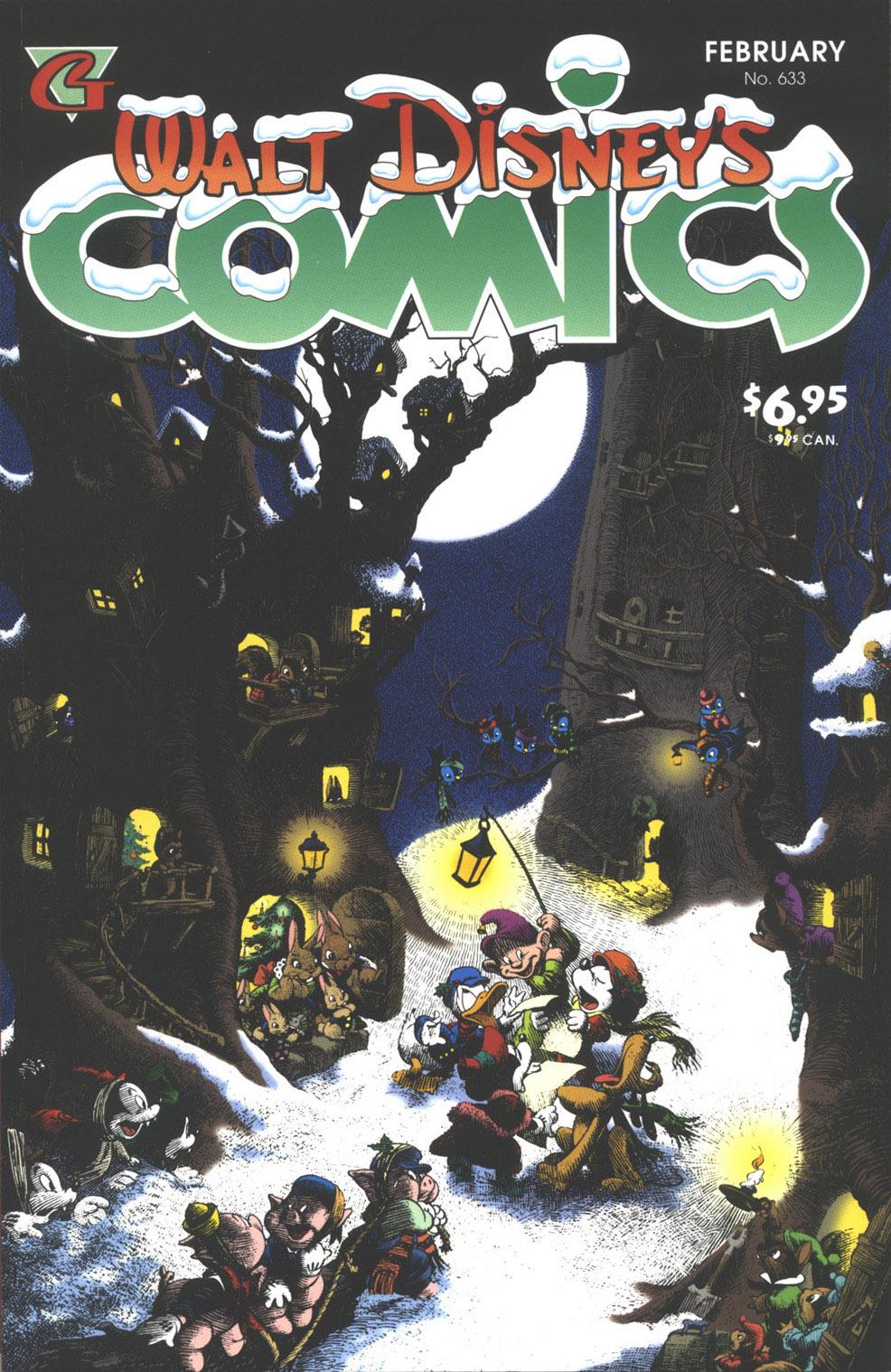 Walt Disneys Comics and Stories 633 Page 1