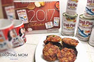 Mackerel Cakes Recipe + Uni-Pak Mackerel x DashingMom Giveaway