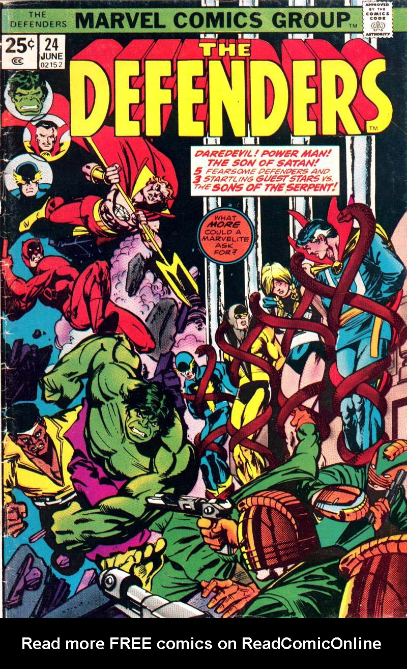 The Defenders (1972) 24 Page 1
