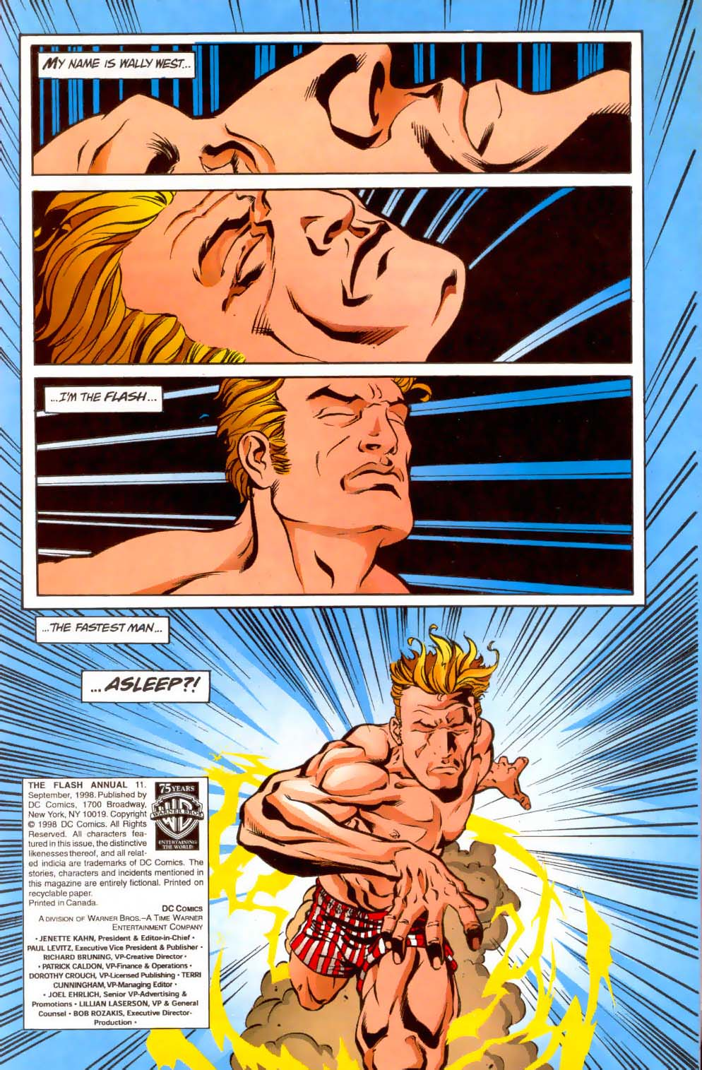 Read online The Flash (1987) comic -  Issue # _Annual 11 - 2