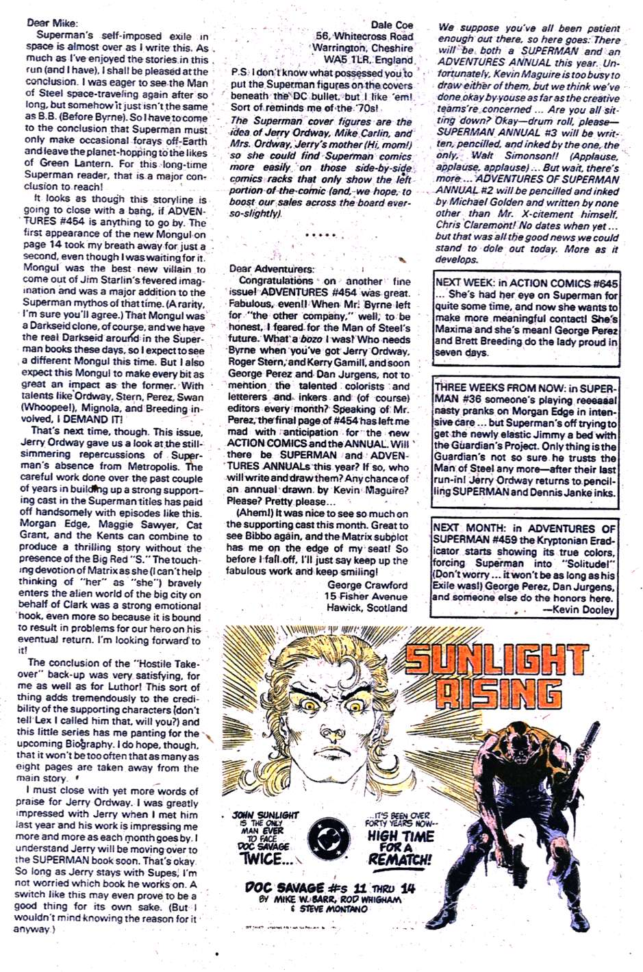 Read online Adventures of Superman (1987) comic -  Issue #458 - 25