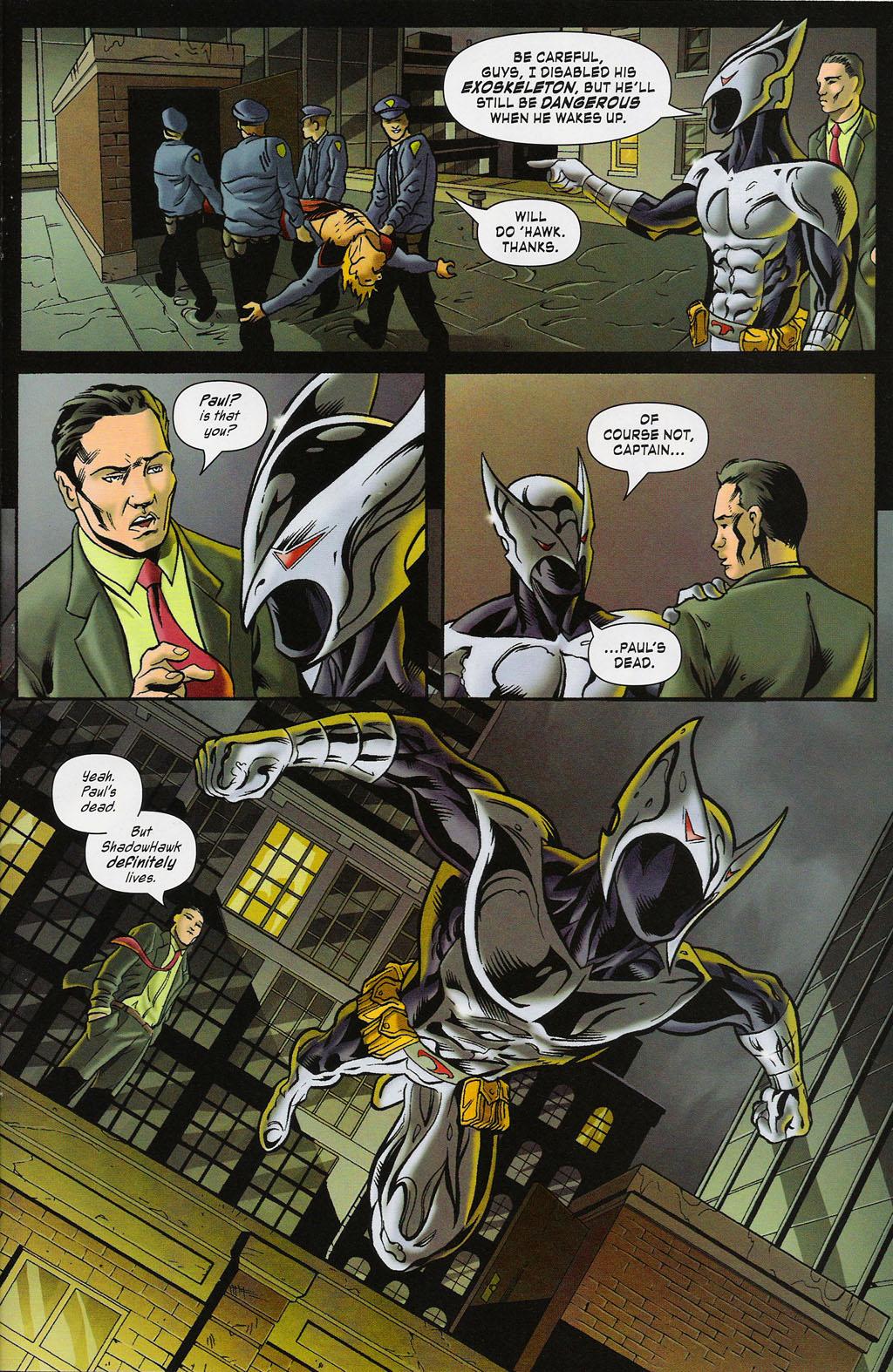 Read online ShadowHawk (2005) comic -  Issue #4 - 20