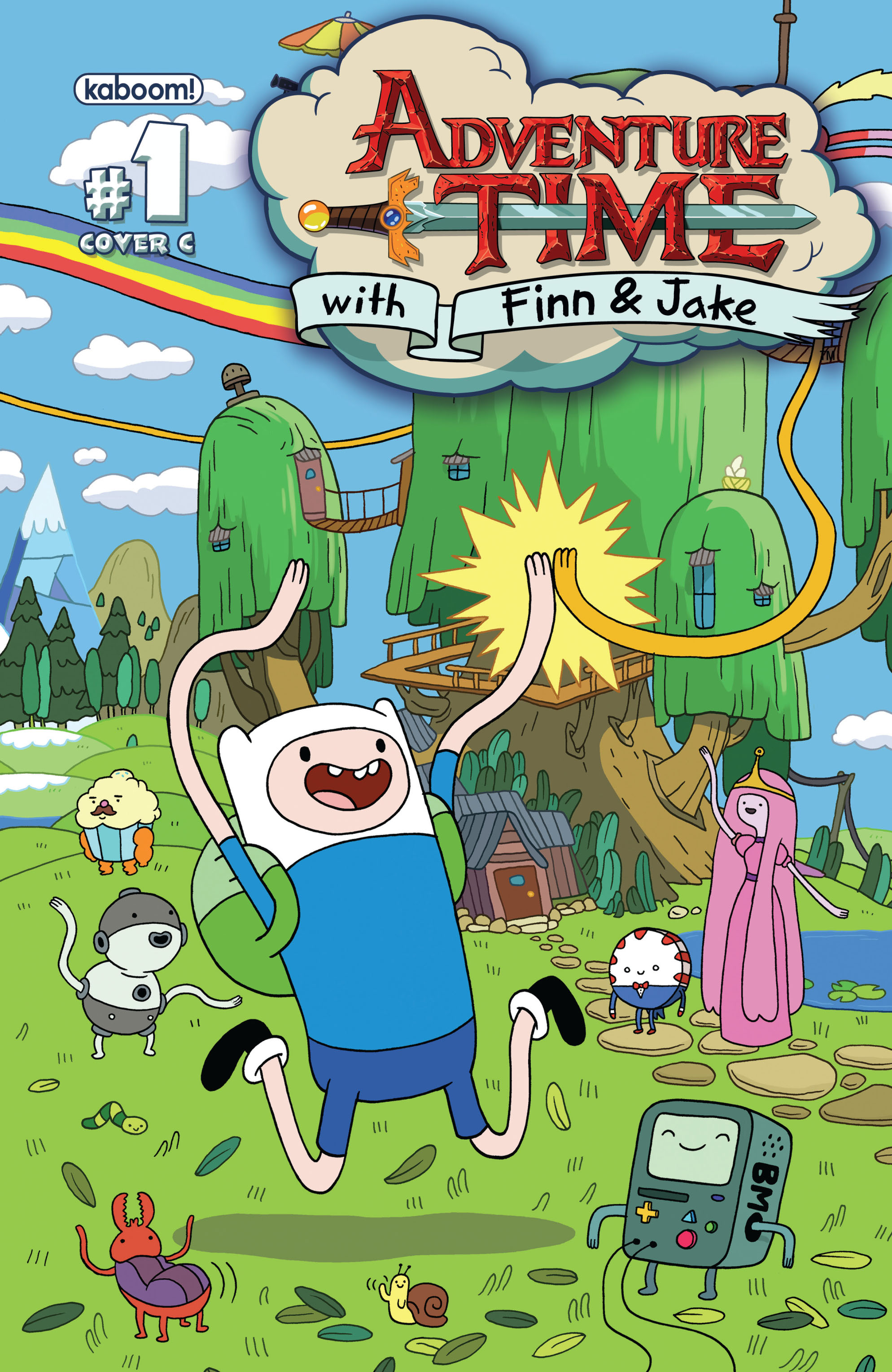 Read online Adventure Time comic -  Issue #1 - 3