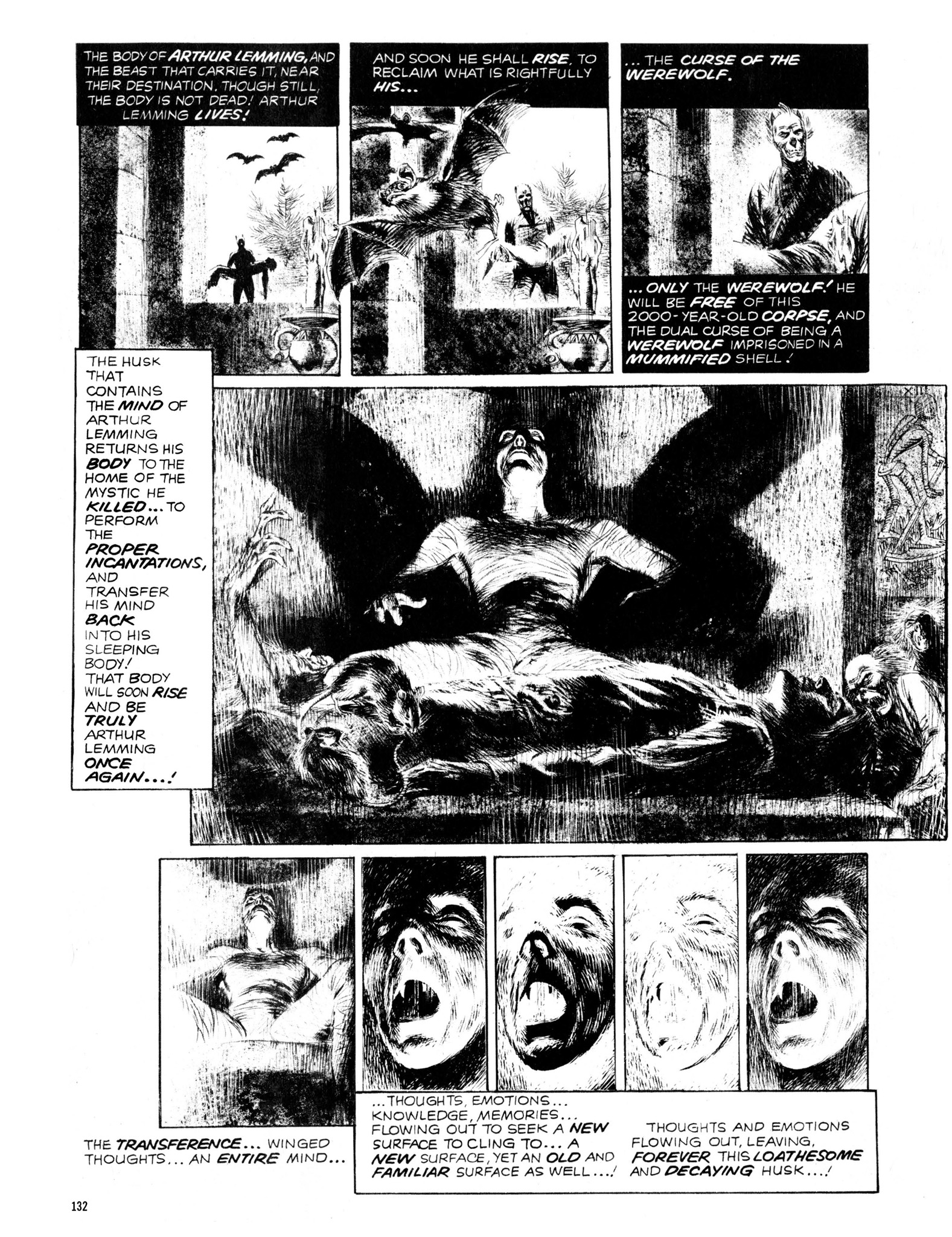 Read online Eerie Archives comic -  Issue # TPB 13 - 133