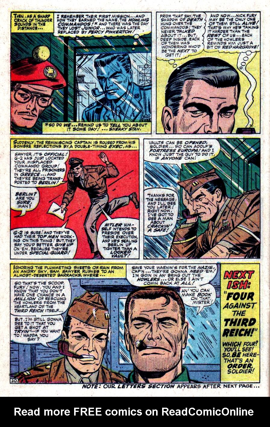 Read online Sgt. Fury comic -  Issue #34 - 28