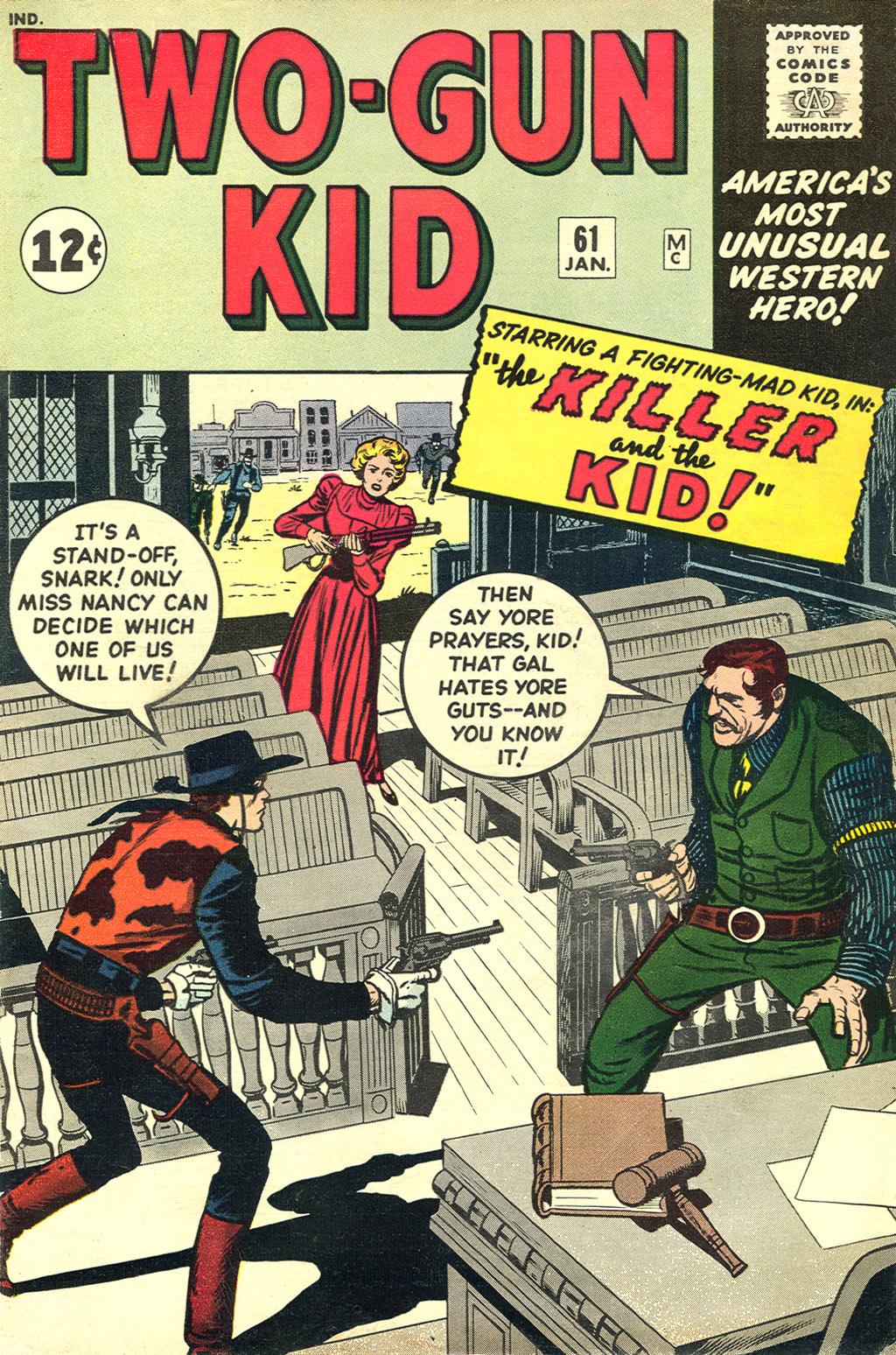 Read online Two-Gun Kid comic -  Issue #61 - 1