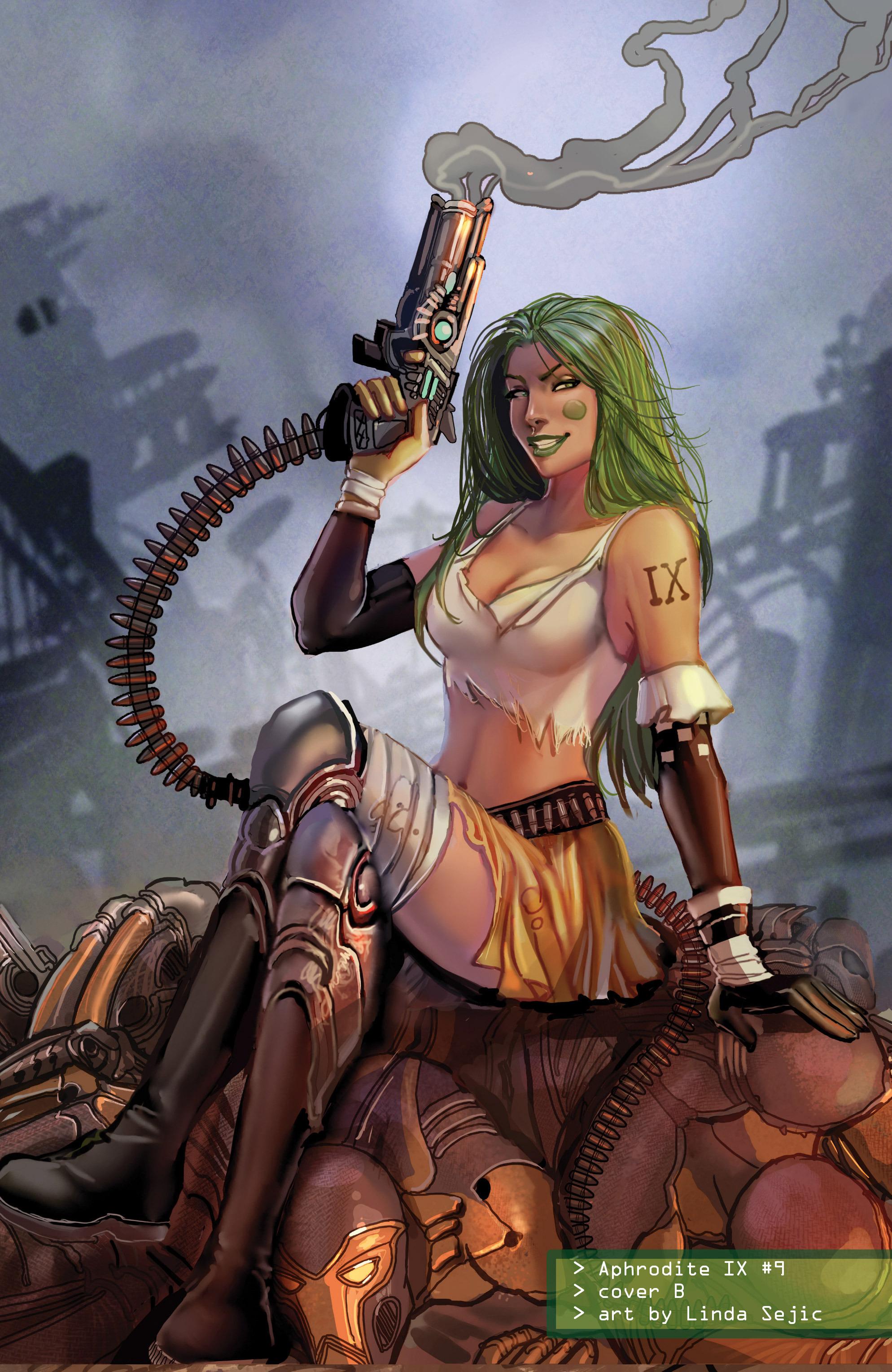 Read online Aphrodite IX (2013) comic -  Issue #Aphrodite IX (2013) _TPB 2 - 147