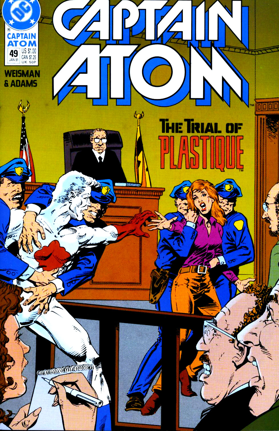 Captain Atom (1987) 49 Page 1