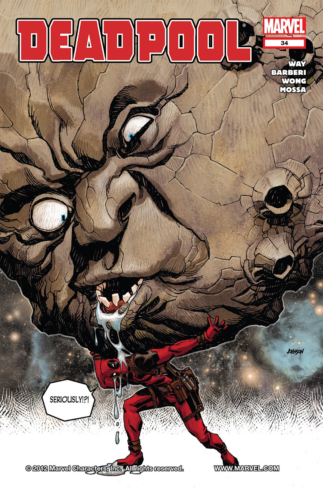 Read online Deadpool (2008) comic -  Issue #34 - 1