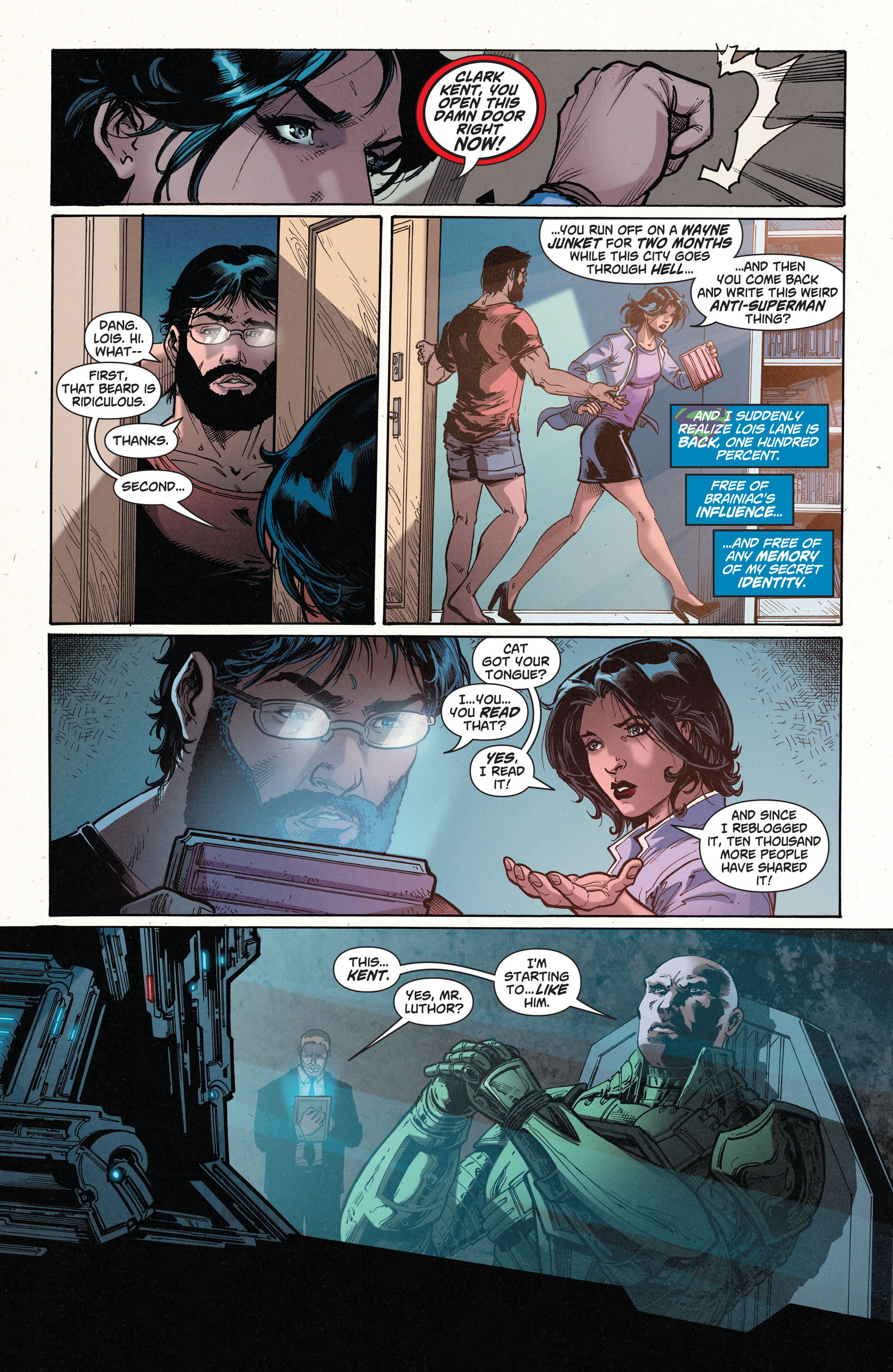 Read online Action Comics (2011) comic -  Issue #35 - 17