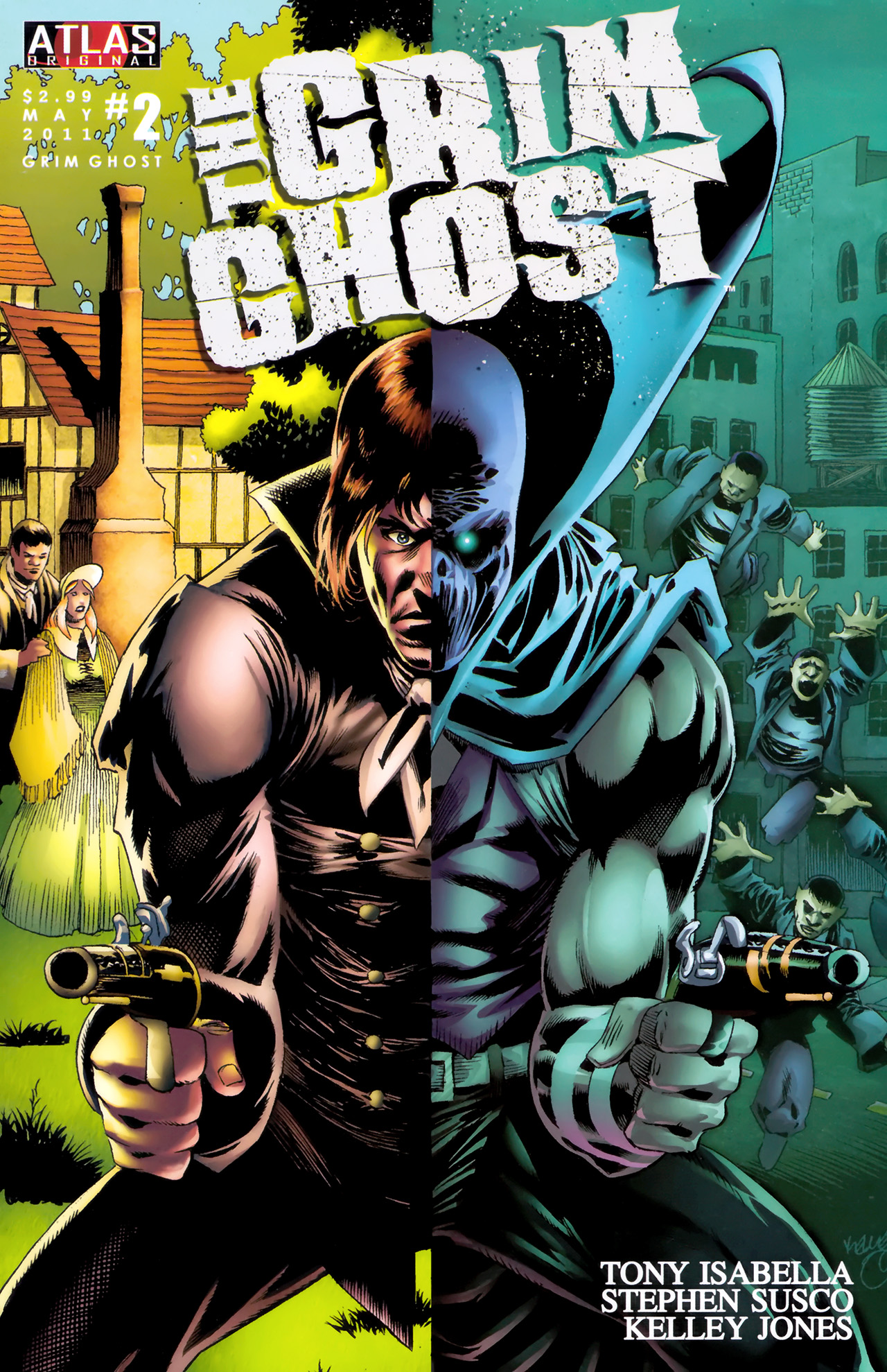 Read online The Grim Ghost comic -  Issue #2 - 1