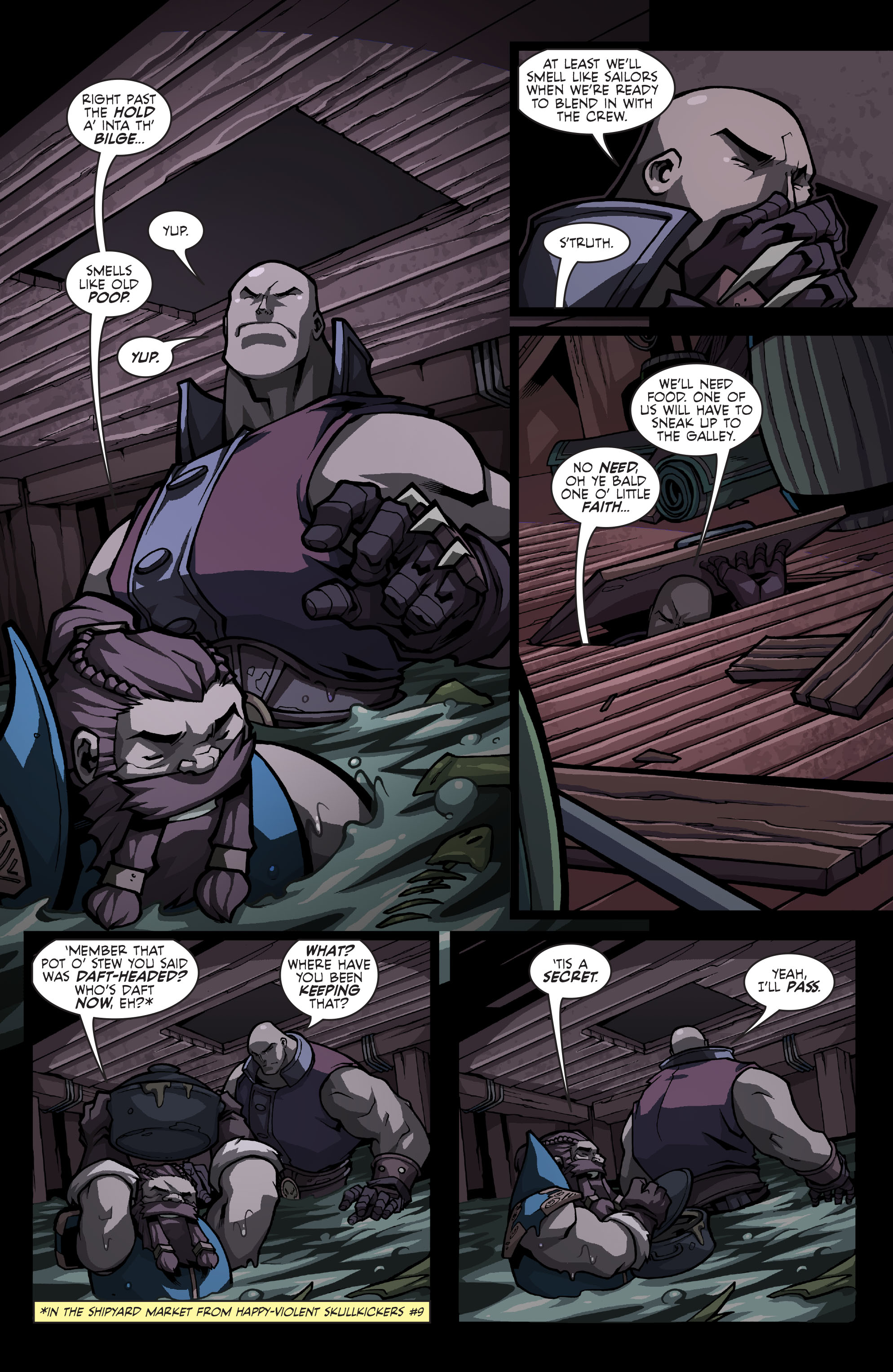 Read online Skullkickers comic -  Issue #13 - 8