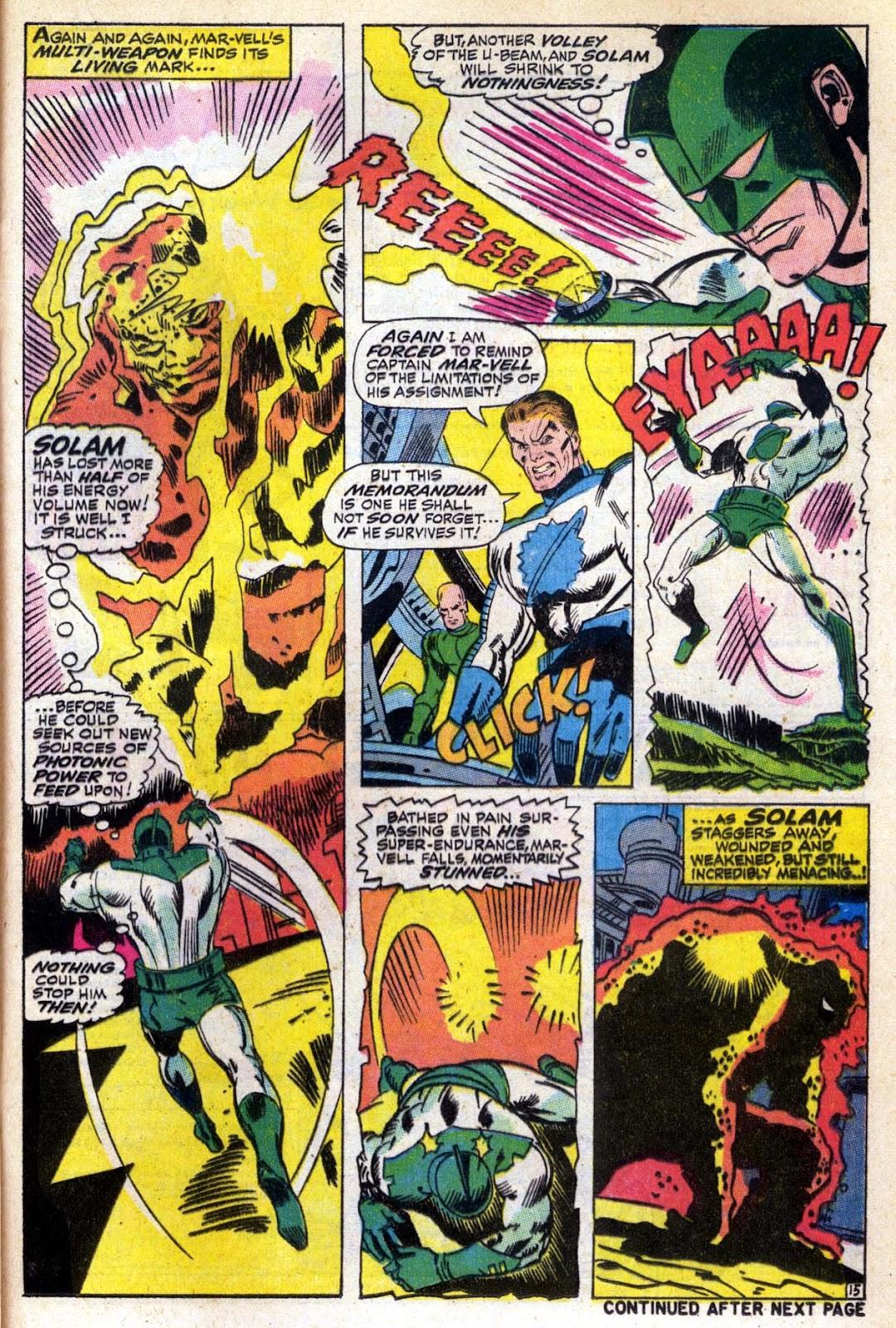 Captain Marvel (1968) Issue #6 #6 - English 16