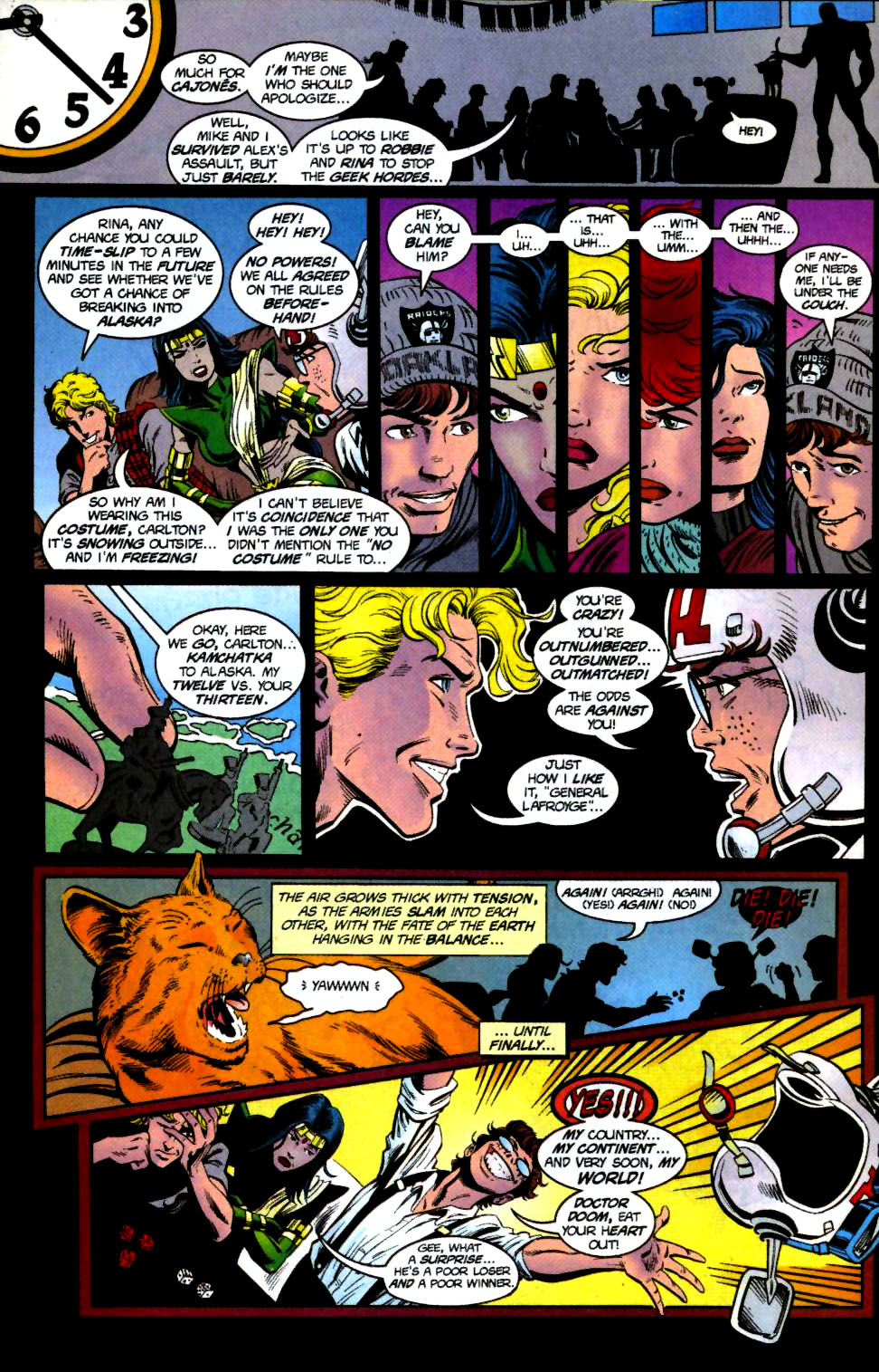 The New Warriors Issue #68 #72 - English 9