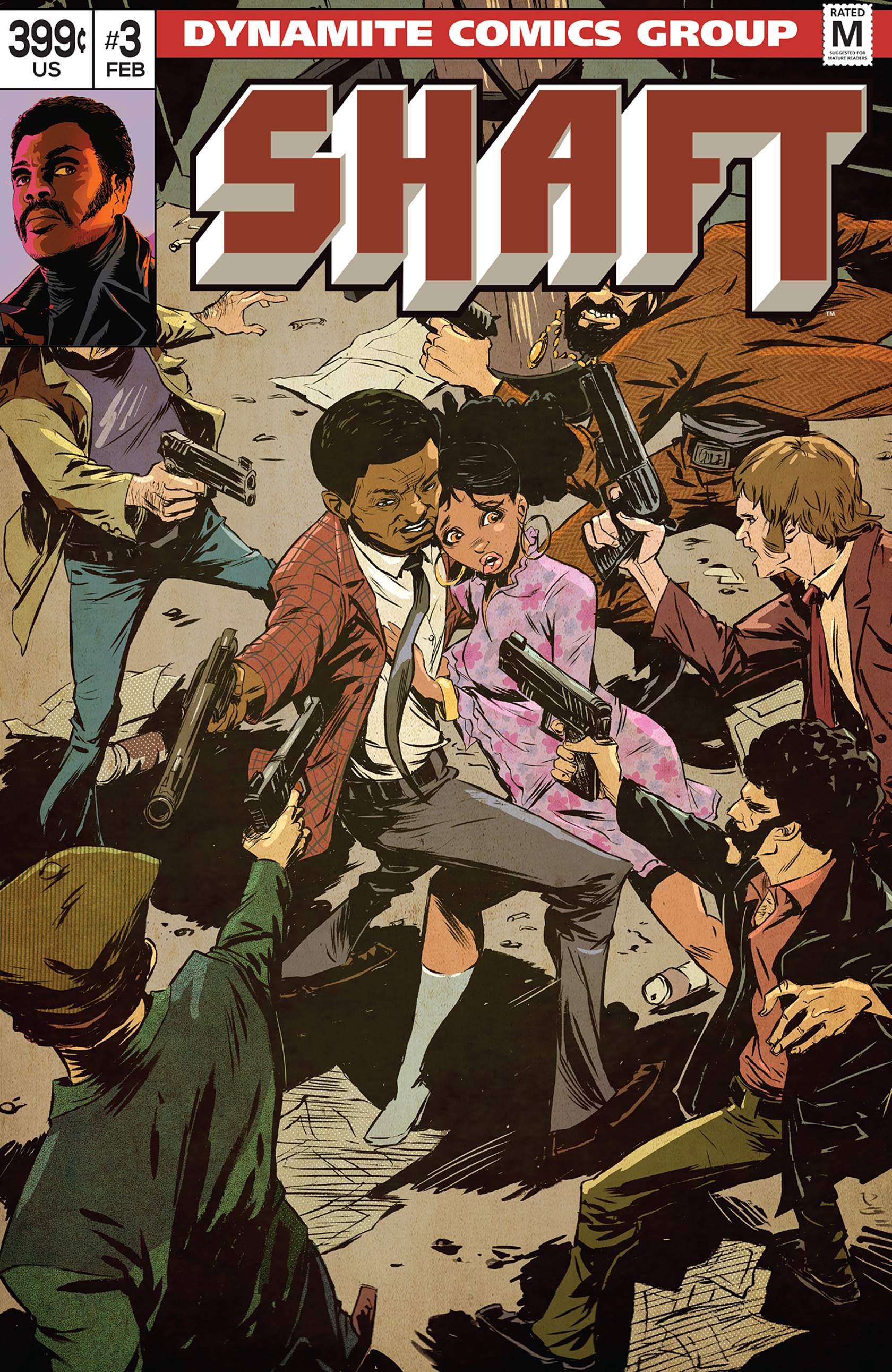 Read online Shaft comic -  Issue #3 - 3