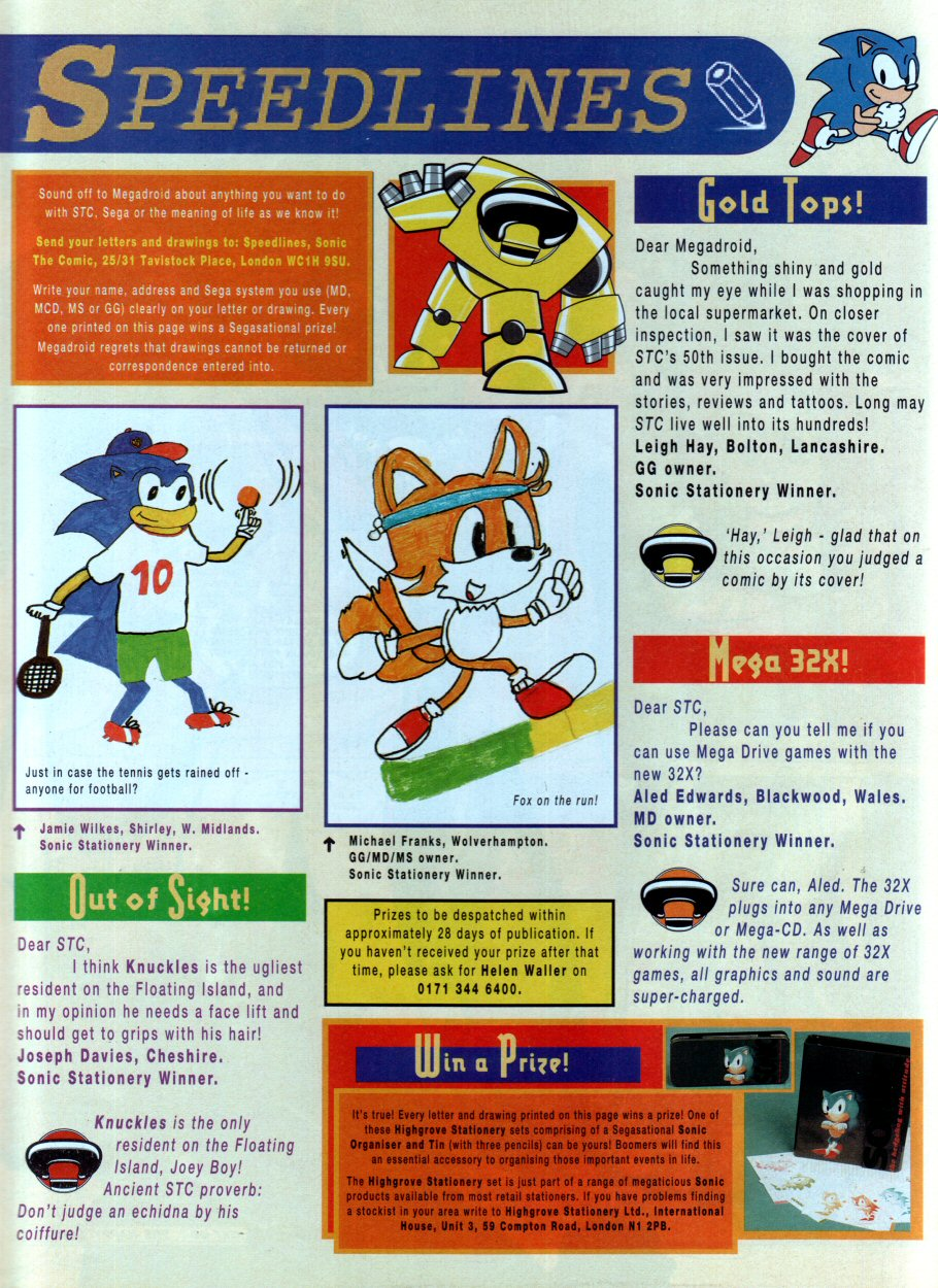 Read online Sonic the Comic comic -  Issue #54 - 30