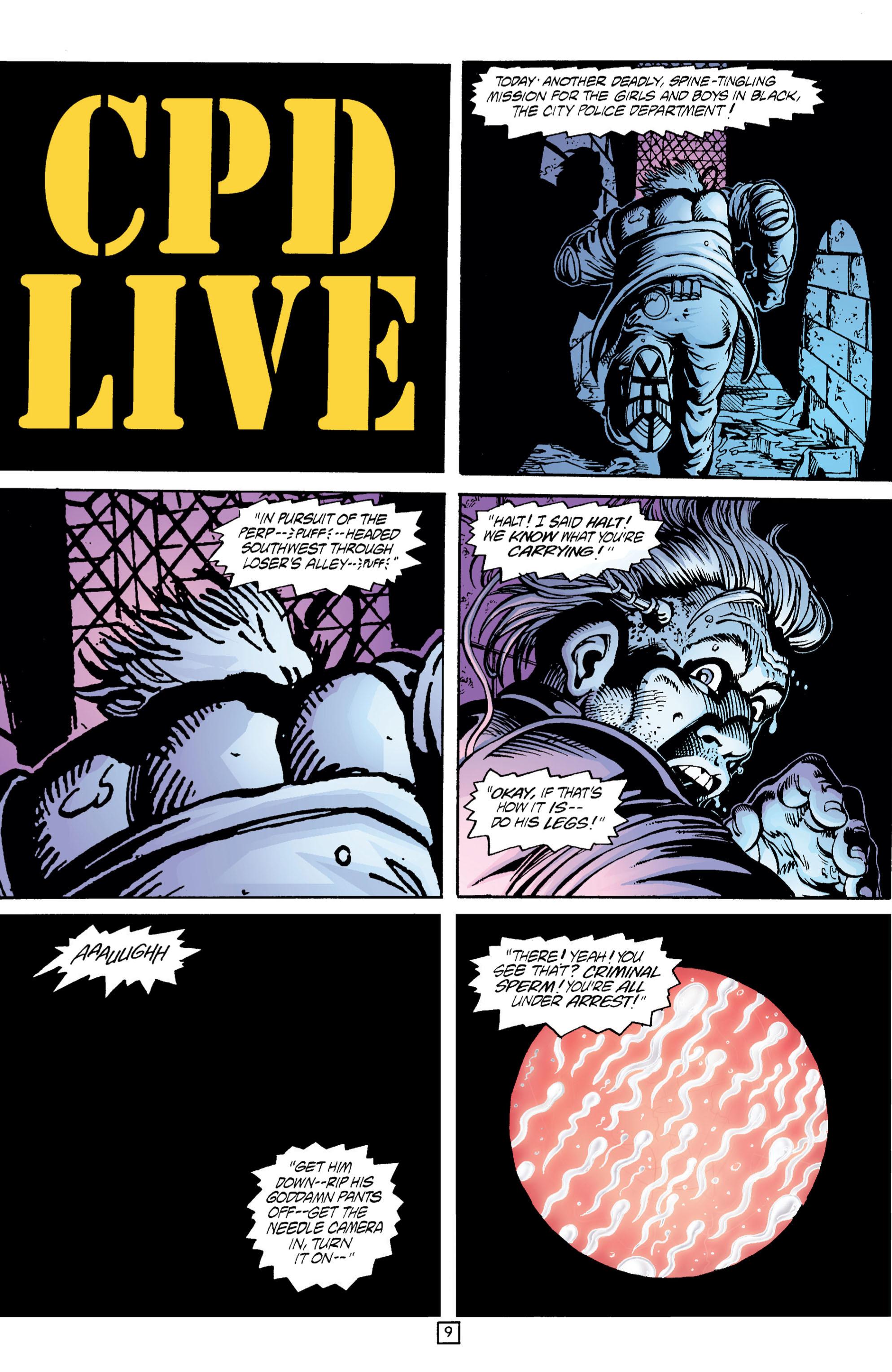 Read online Transmetropolitan comic -  Issue #5 - 10