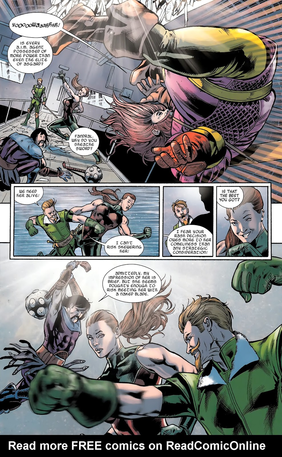 Warriors Three Issue #3 #3 - English 8