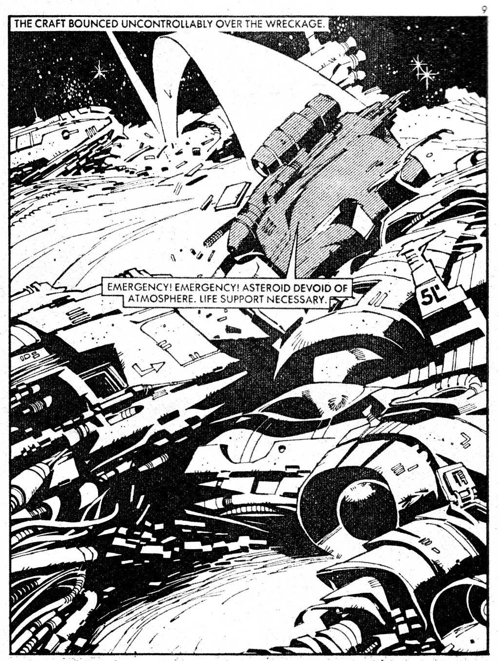 Starblazer issue 71 - Page 9