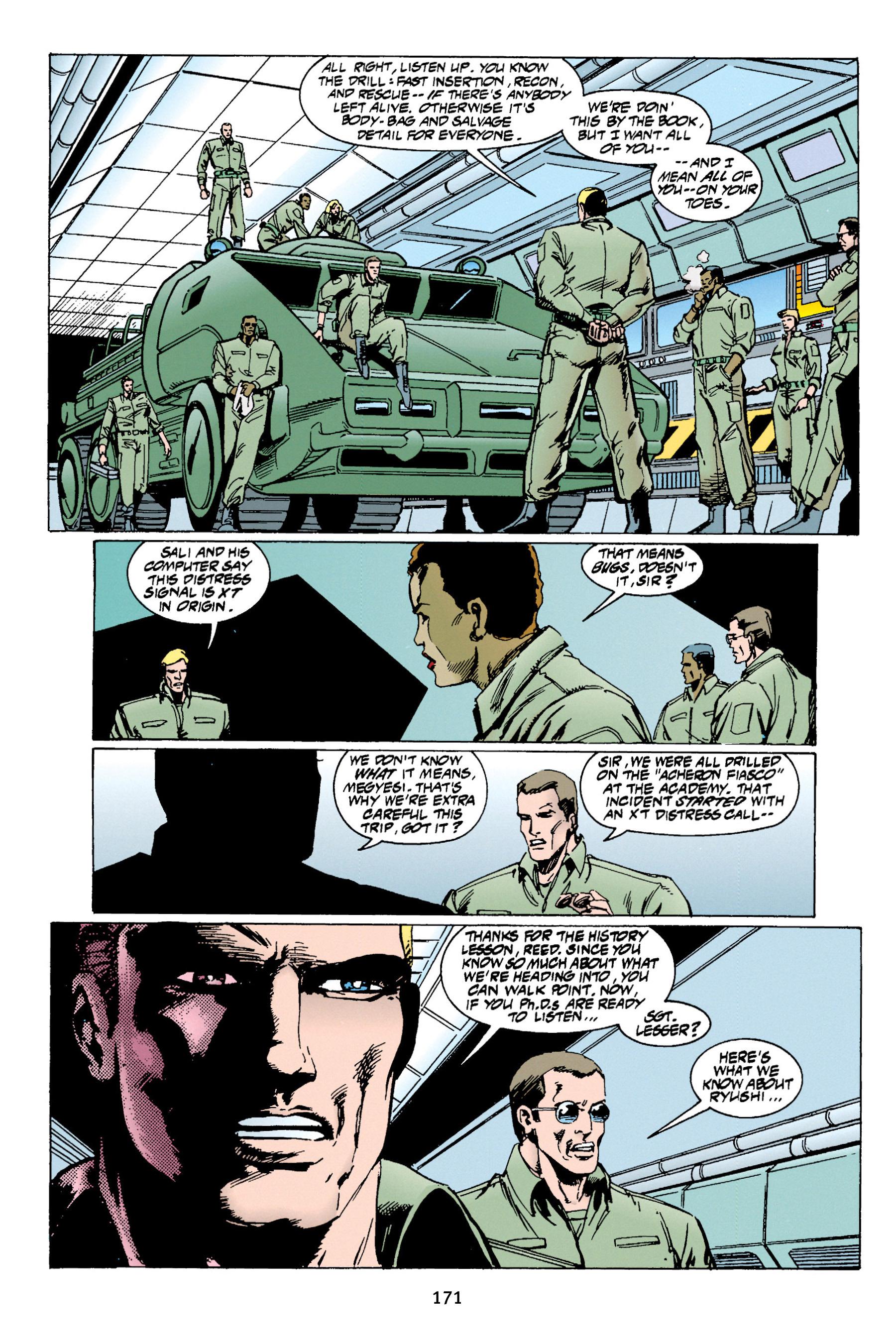 Read online Aliens vs. Predator Omnibus comic -  Issue # _TPB 1 Part 2 - 69