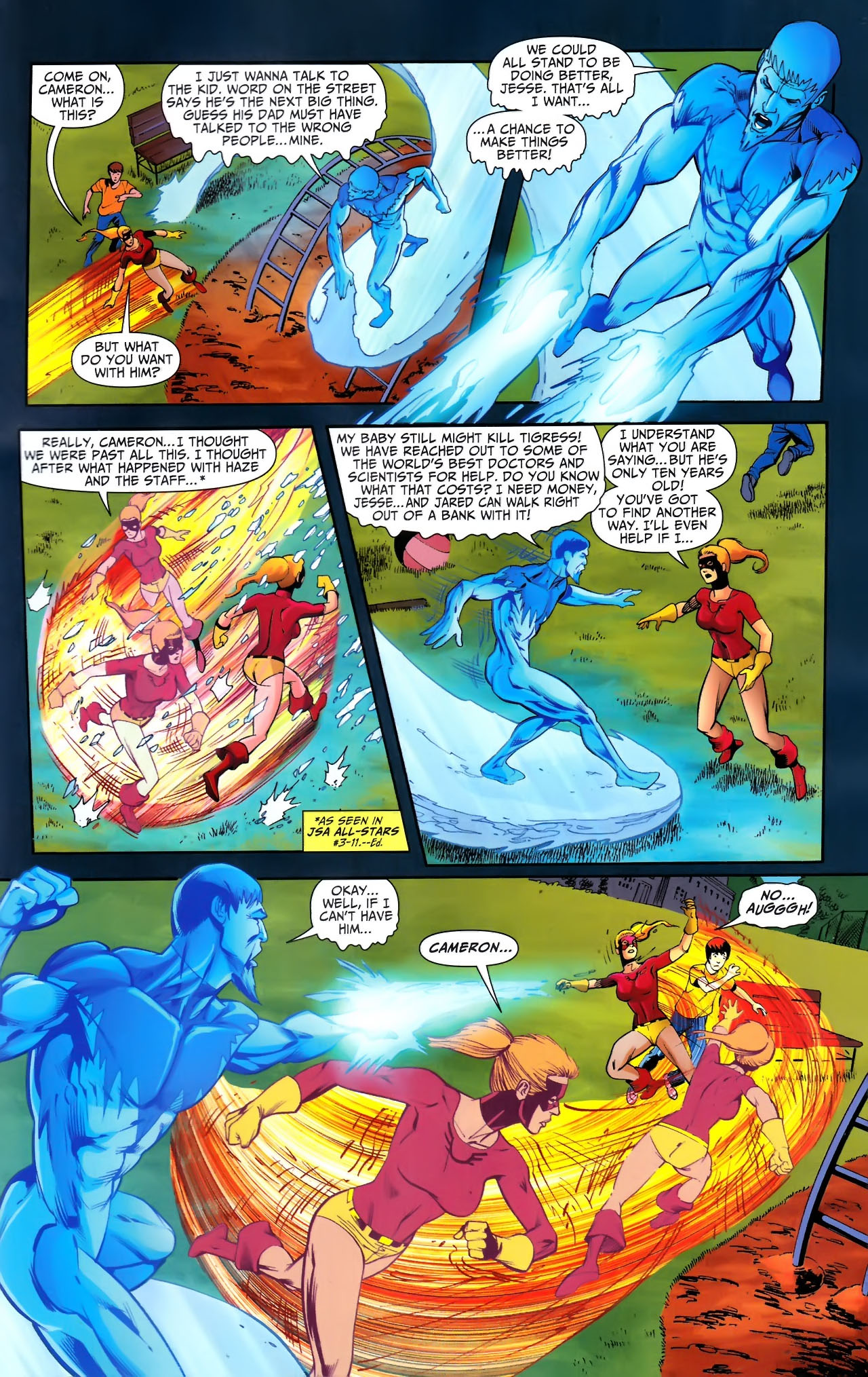 Read online JSA 80-Page Giant 2011 comic -  Issue # Full - 47