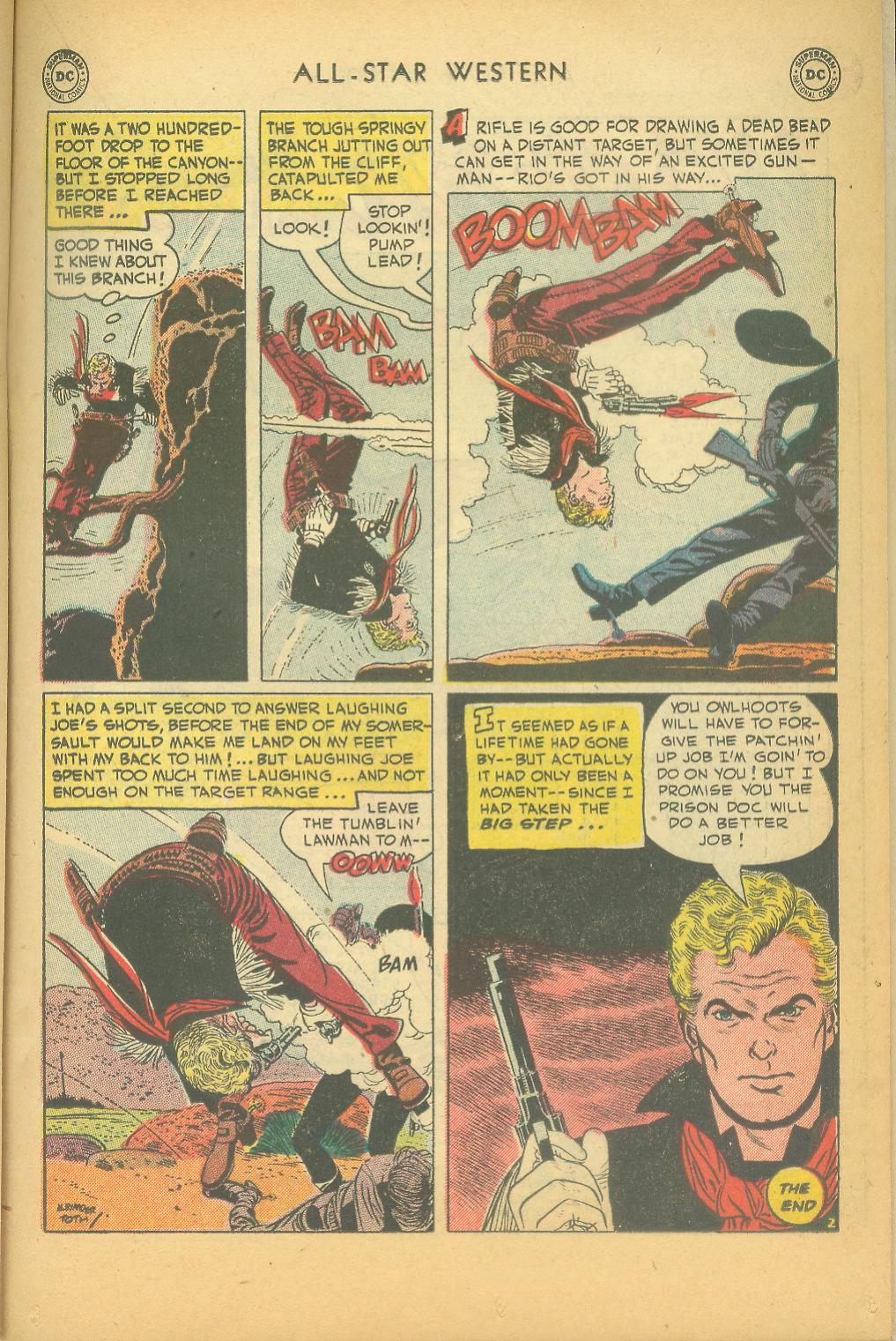 Read online All-Star Western (1951) comic -  Issue #61 - 25