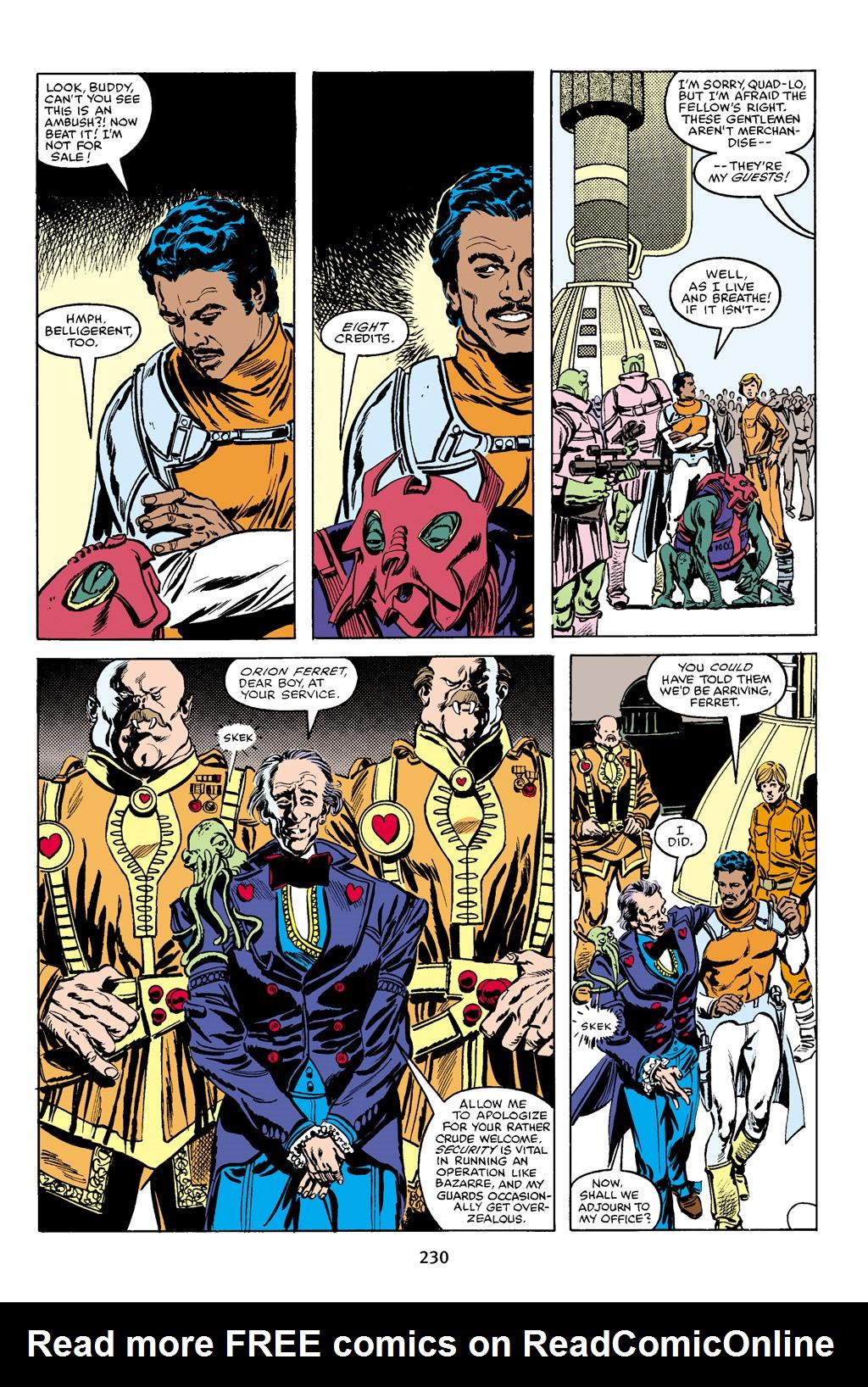Read online Star Wars Omnibus comic -  Issue # Vol. 16 - 227