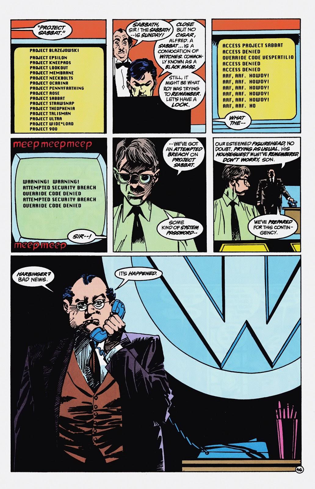 Read online Detective Comics (1937) comic -  Issue # _TPB Batman - Blind Justice (Part 1) - 51