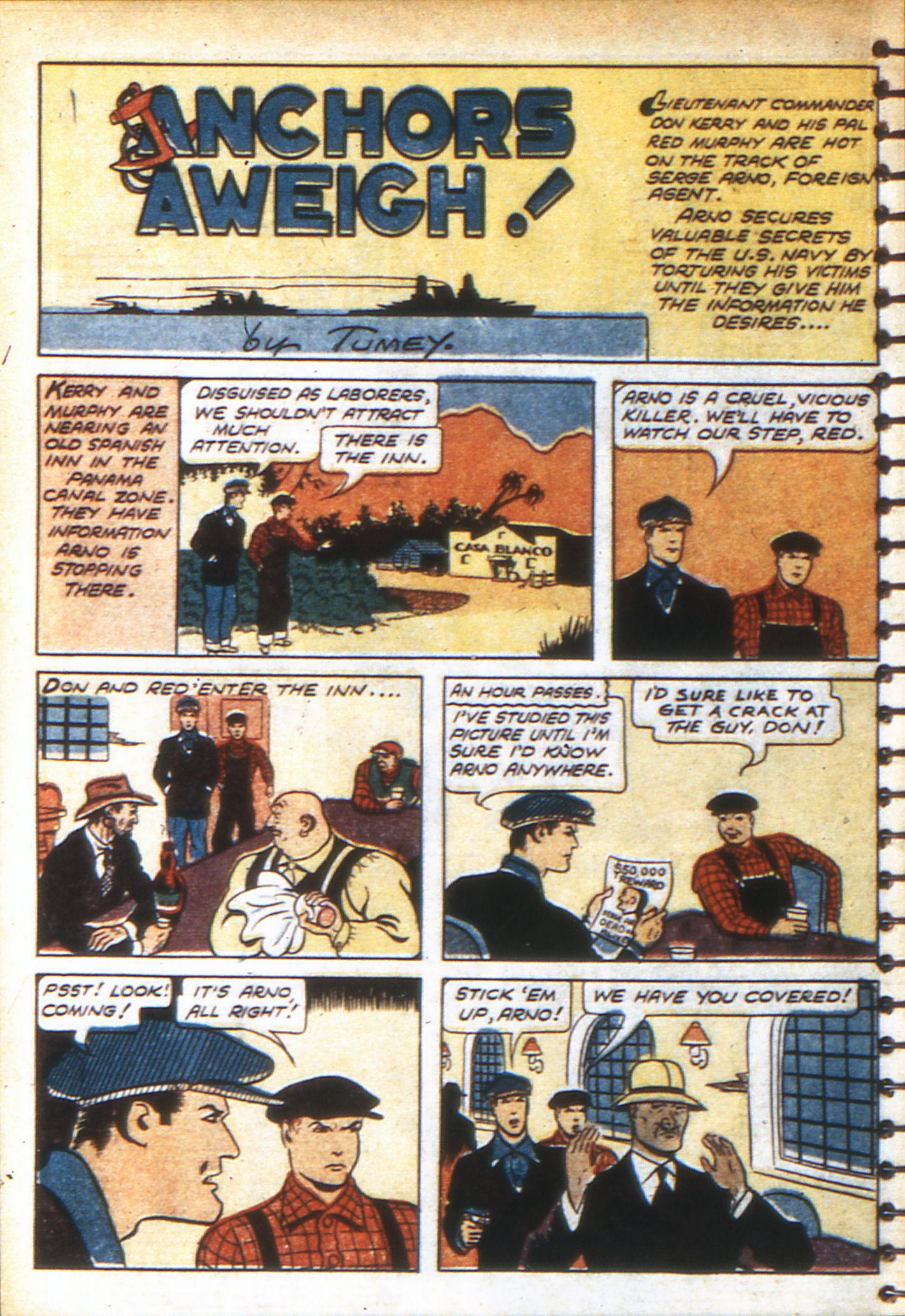 Read online Adventure Comics (1938) comic -  Issue #49 - 54