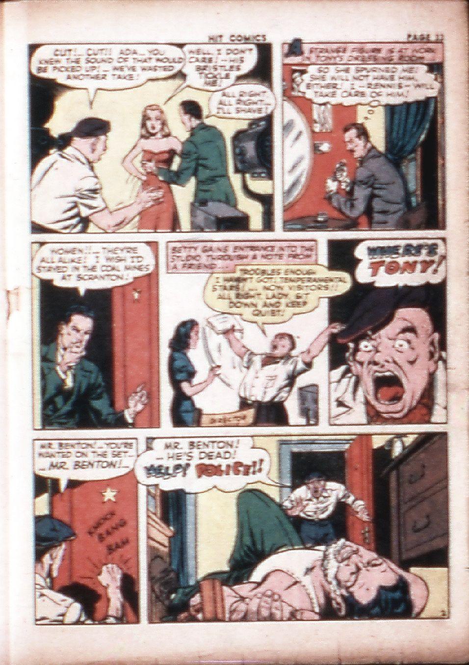 Read online Hit Comics comic -  Issue #29 - 35