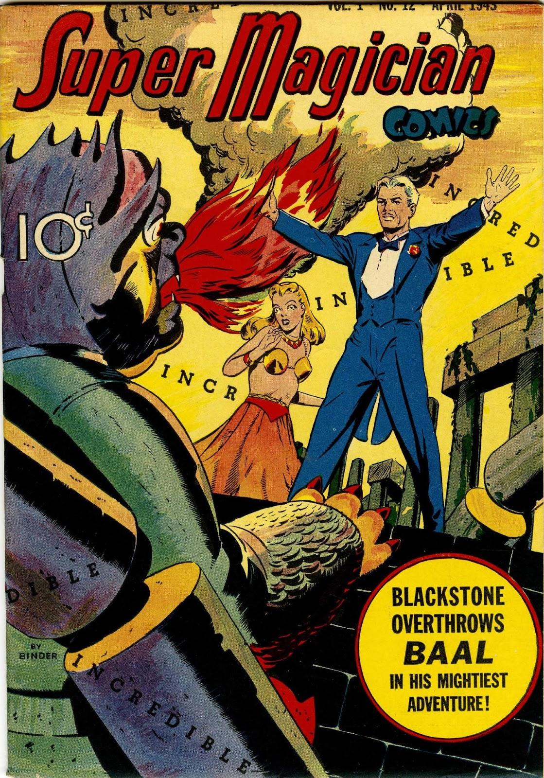Super-Magician Comics issue 12 - Page 1