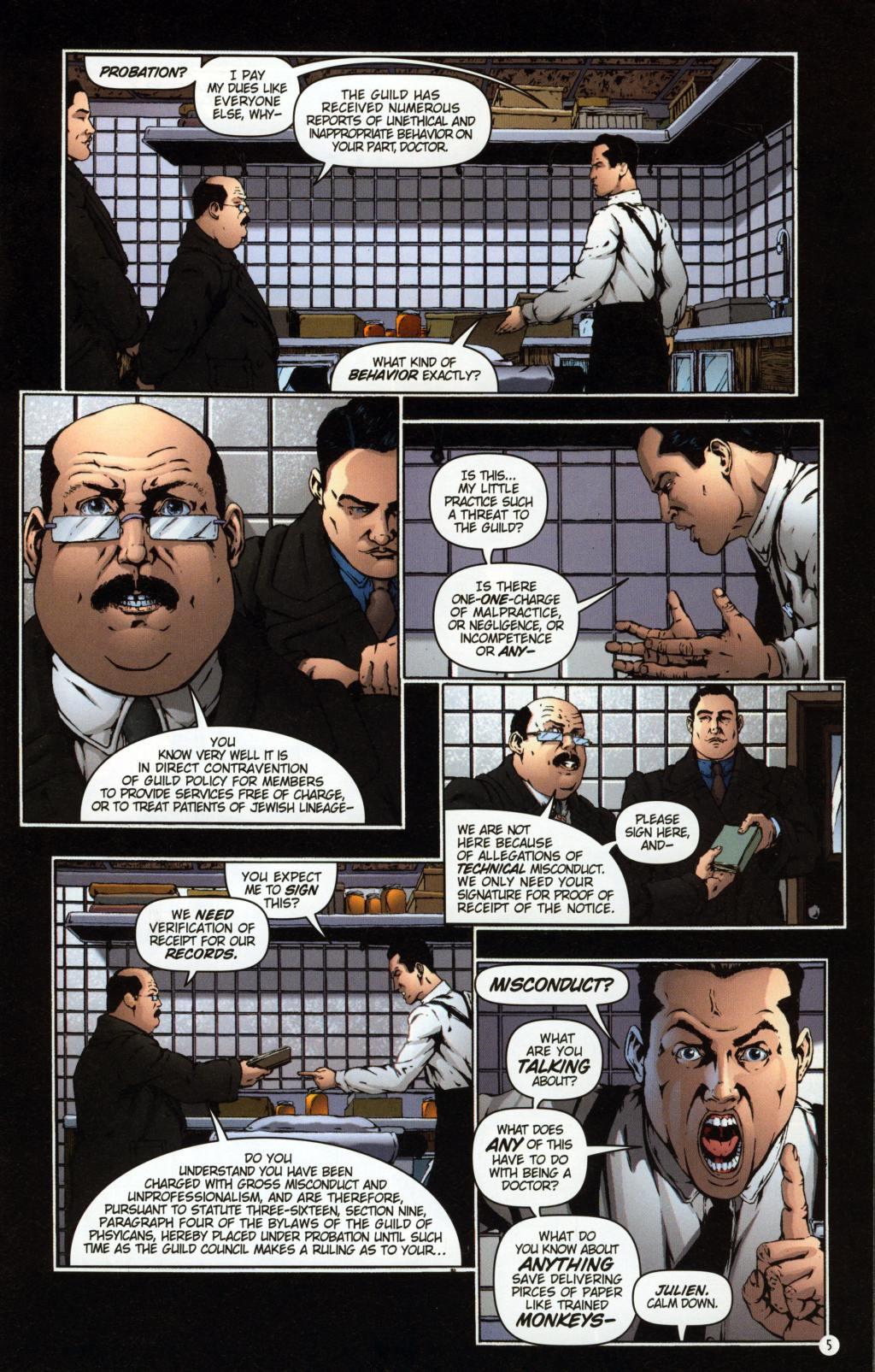 Read online Rex Mundi comic -  Issue #7 - 9
