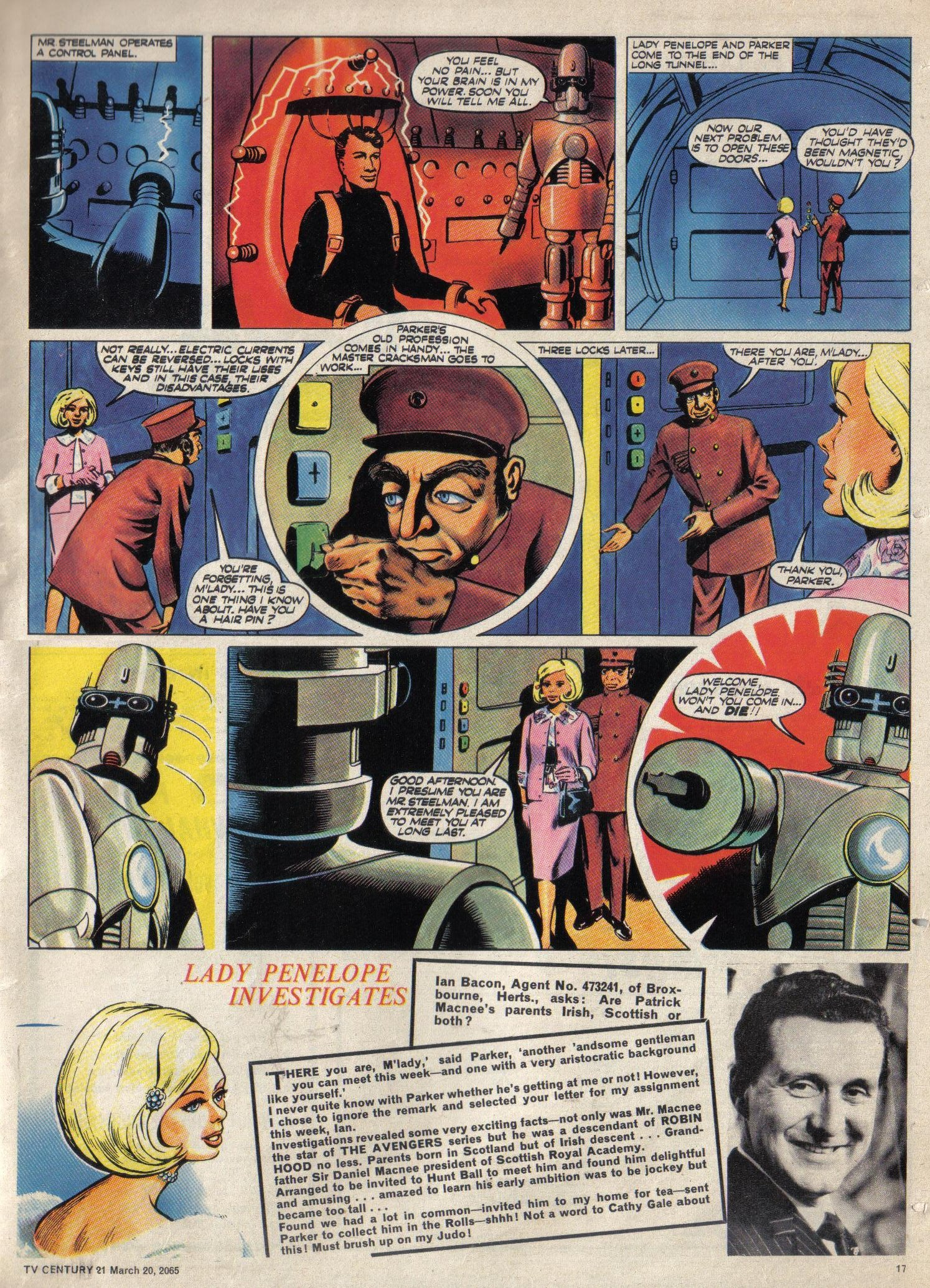 Read online TV Century 21 (TV 21) comic -  Issue #9 - 17