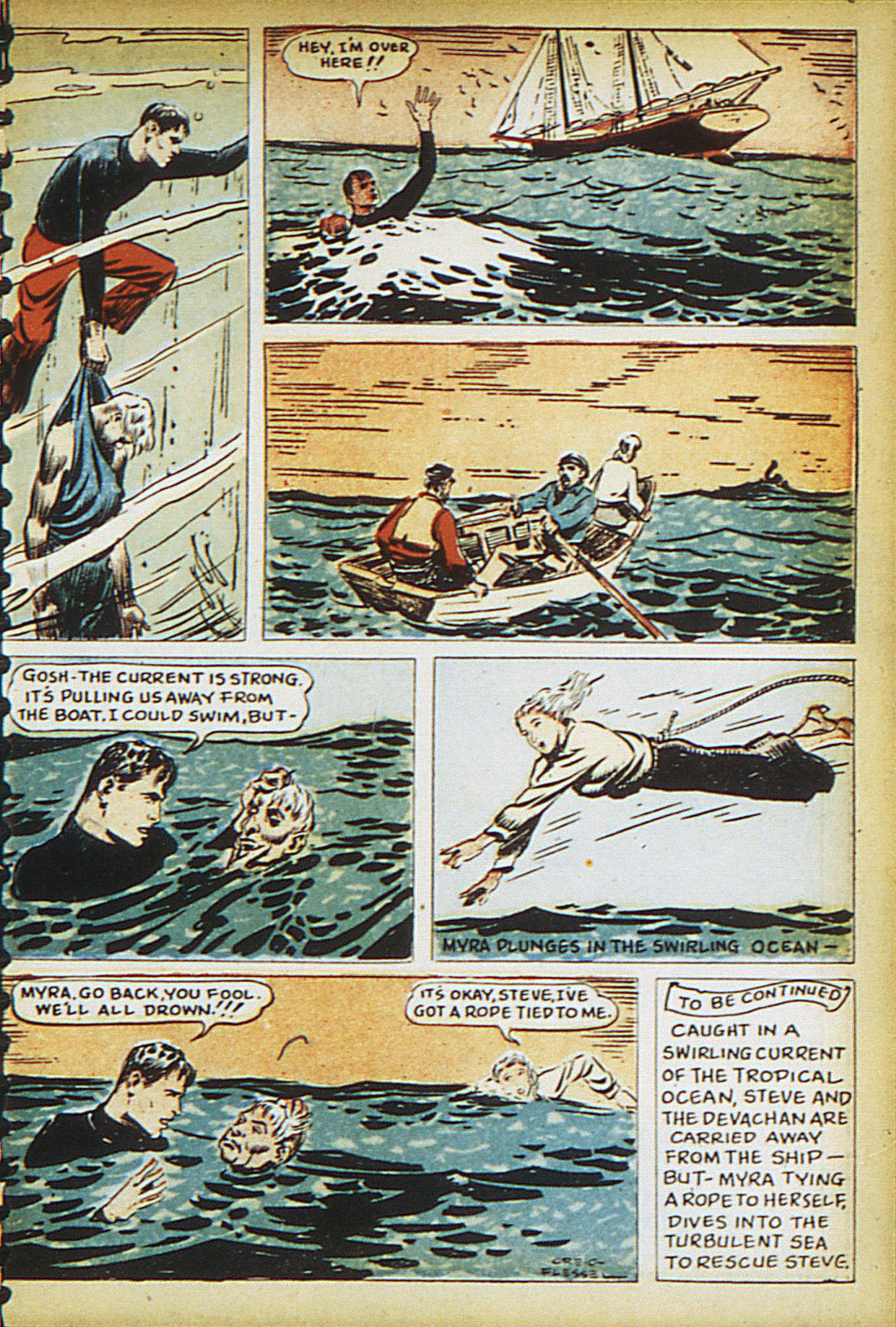 Read online Adventure Comics (1938) comic -  Issue #15 - 19