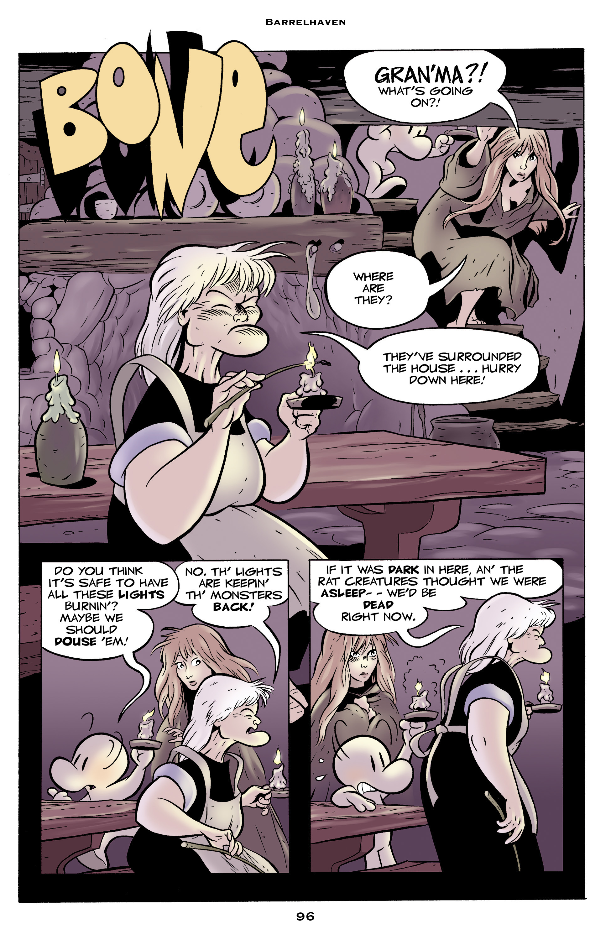 Read online Bone: Out From Boneville comic -  Issue # TPB - 96