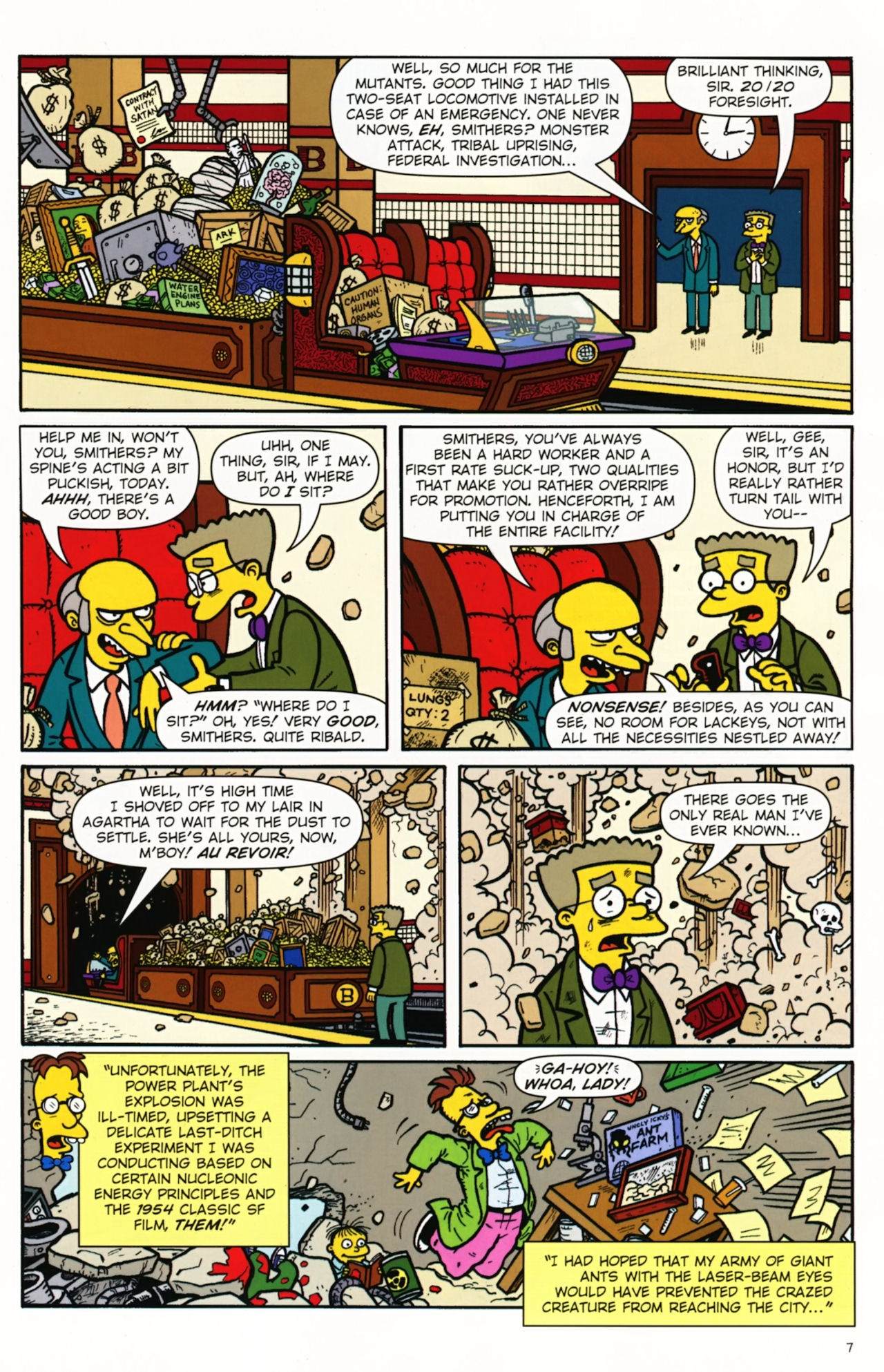 Read online Treehouse of Horror comic -  Issue #16 - 10