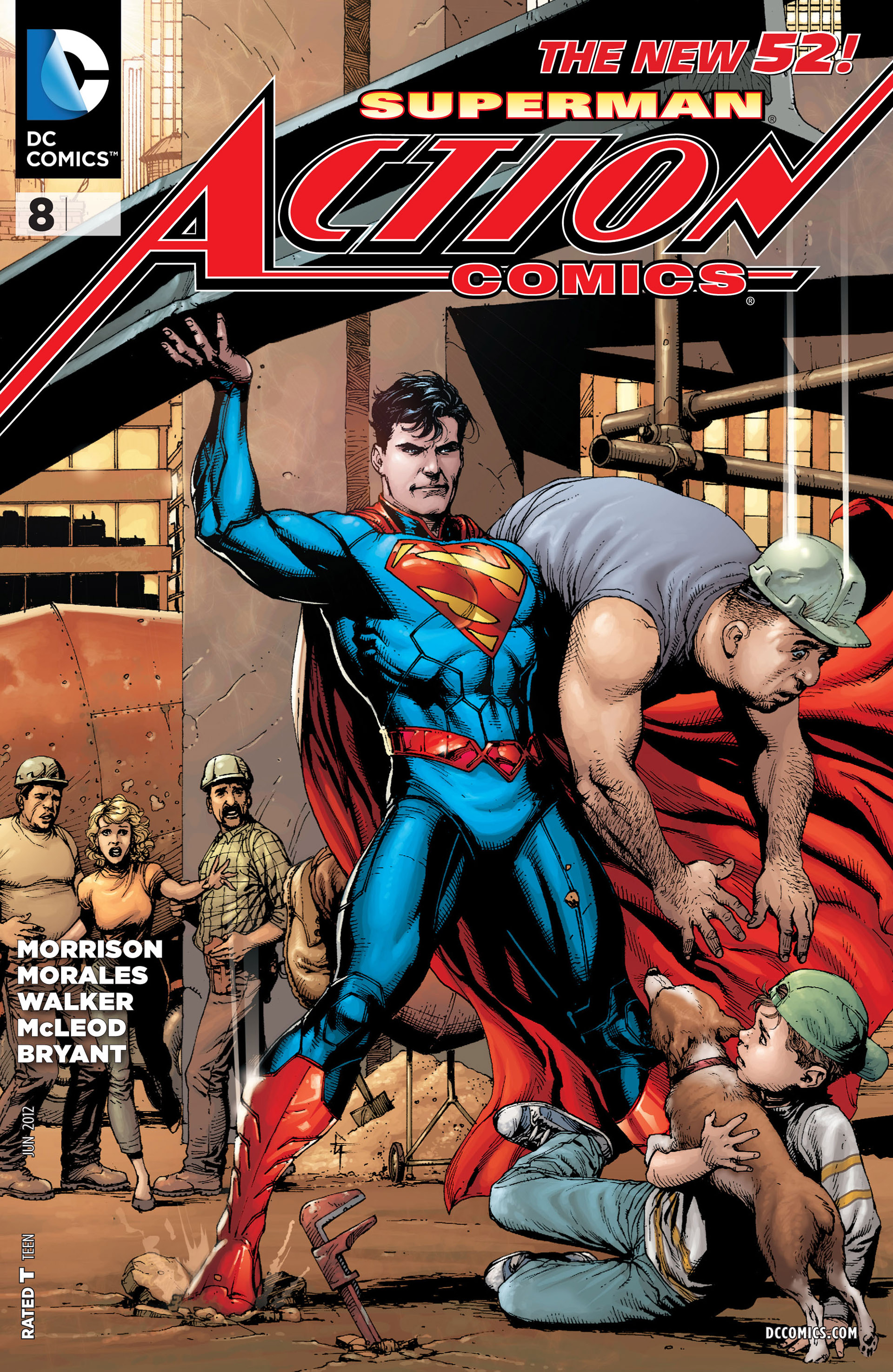 Read online Action Comics (2011) comic -  Issue #8 - 2