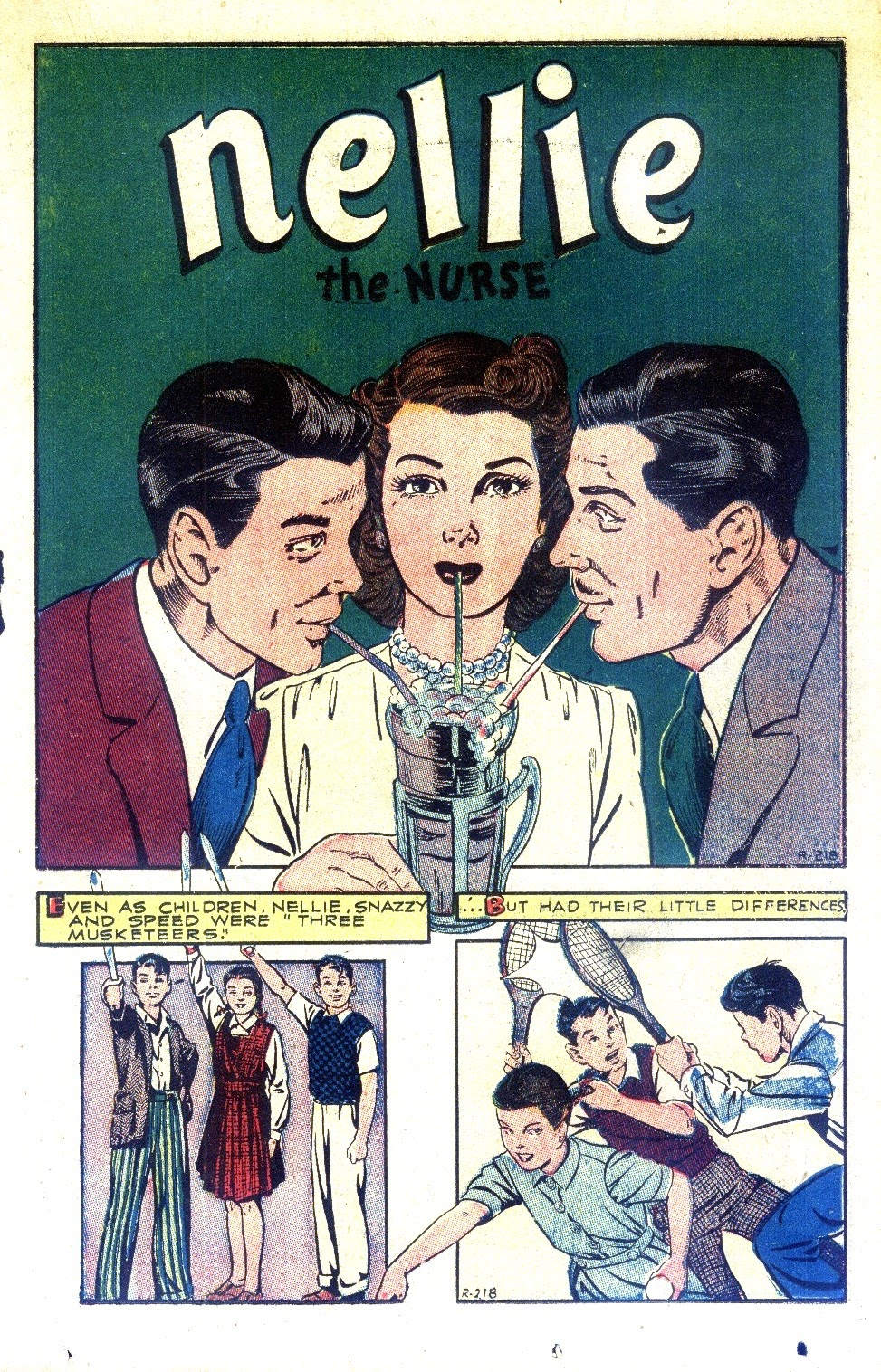 Read online Nellie The Nurse (1945) comic -  Issue #2 - 27