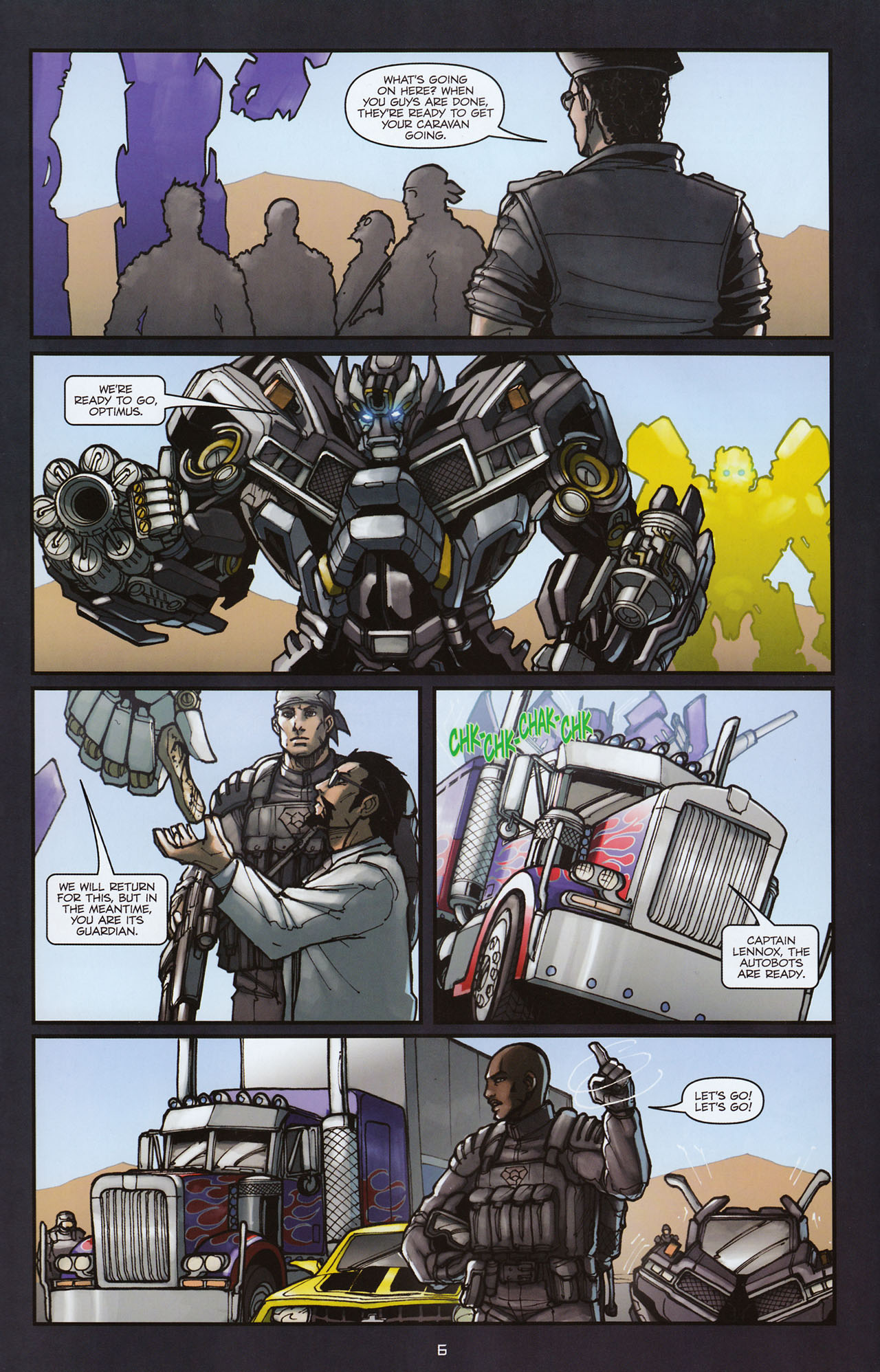 Read online Transformers: Alliance comic -  Issue #2 - 9