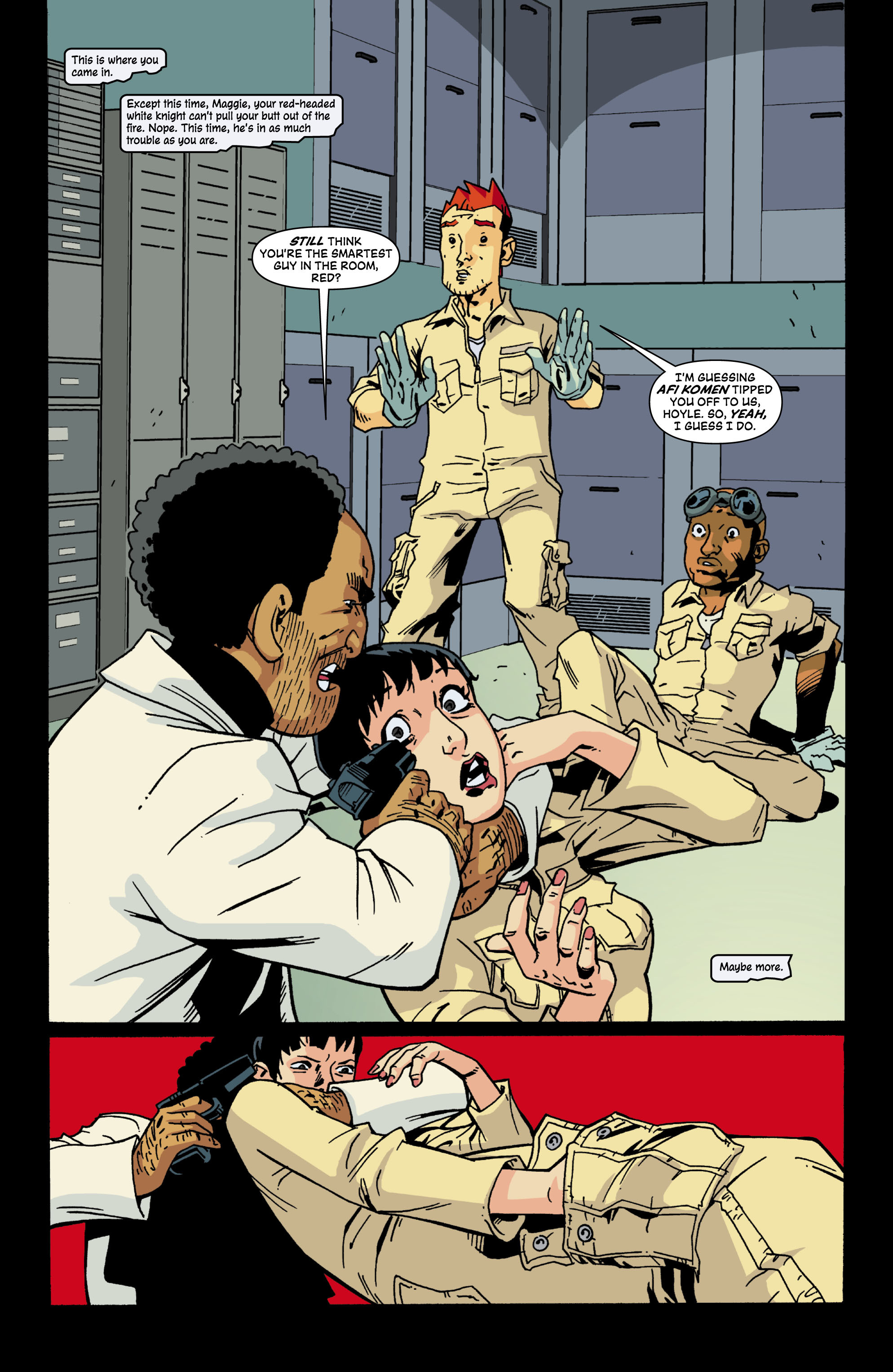 Read online Red Herring comic -  Issue #6 - 2