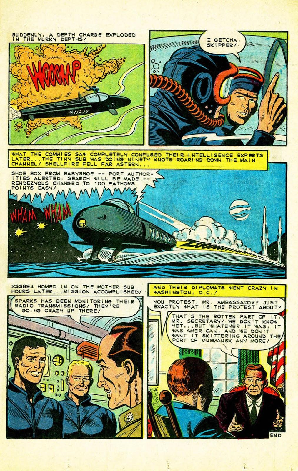Read online Fightin' Navy comic -  Issue #128 - 9