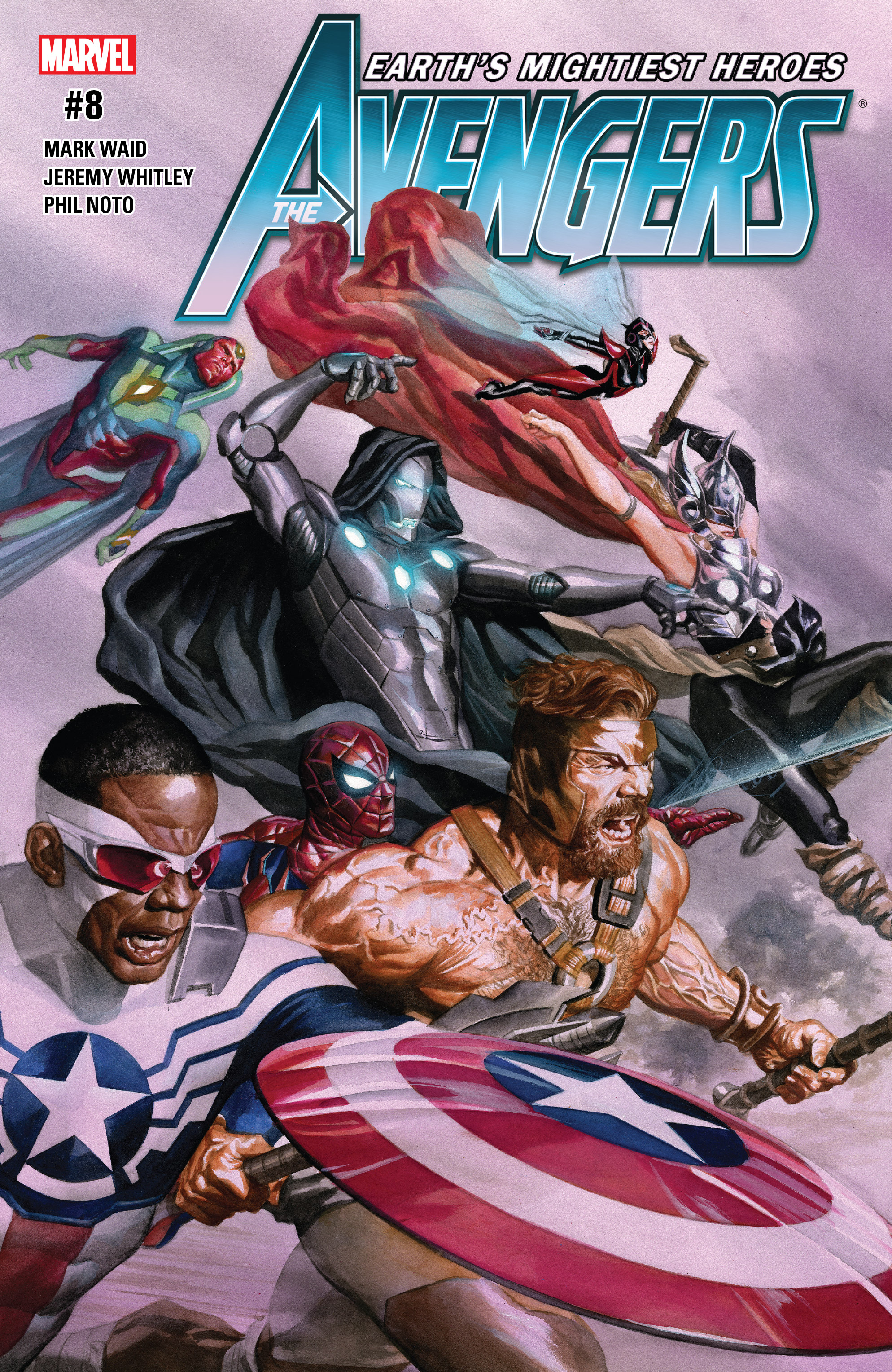 Read online Avengers (2016) comic -  Issue #8 - 1