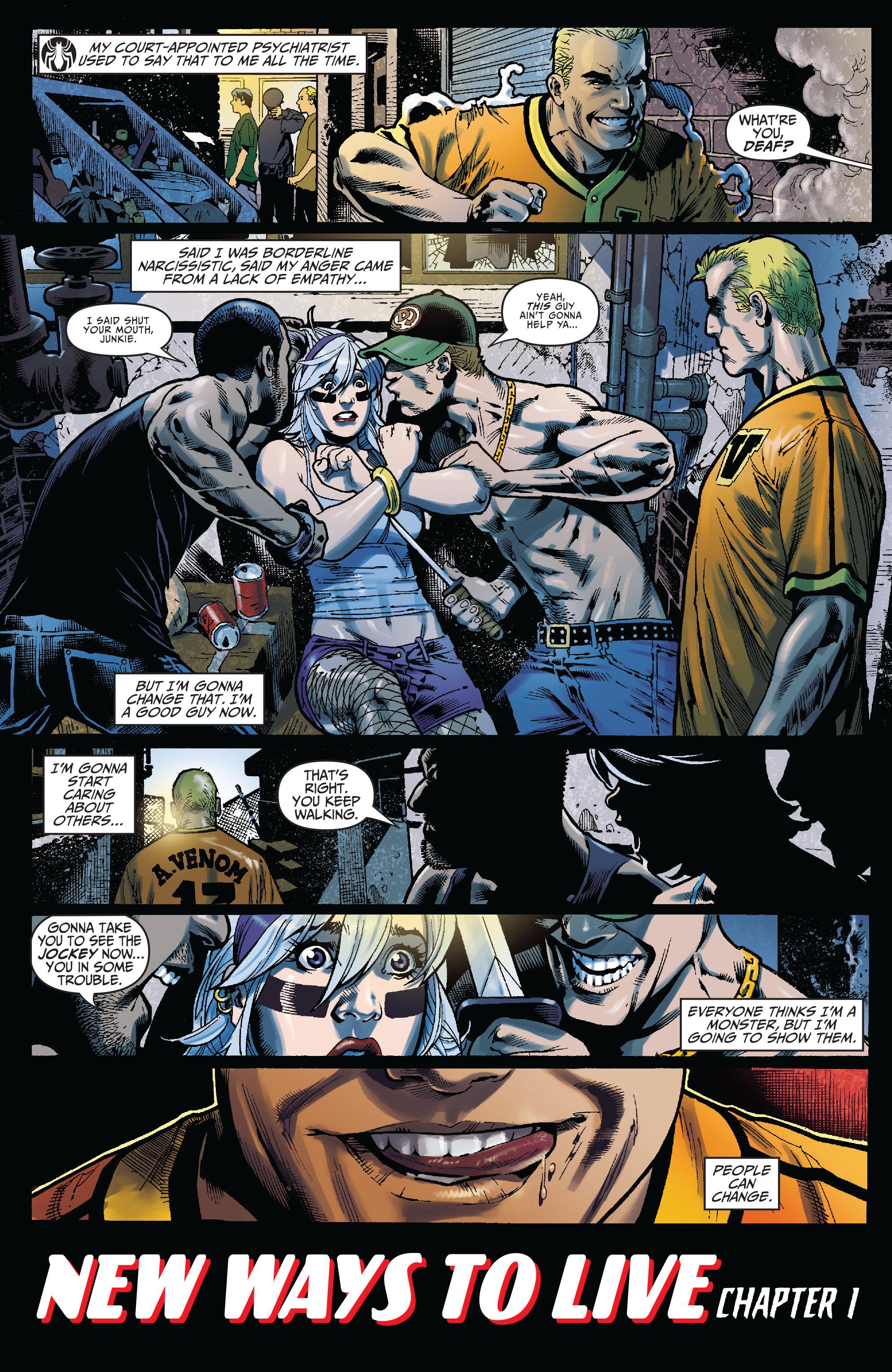 Read online Amazing Spider-Man Presents: Anti-Venom - New Ways To Live comic -  Issue #1 - 4