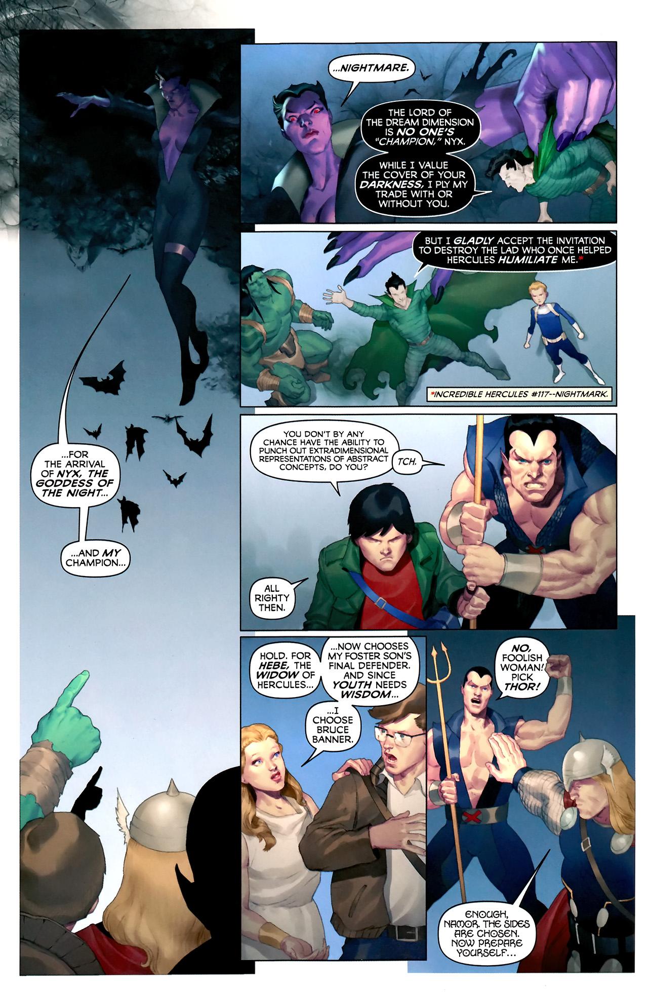 Read online Hercules: Fall of an Avenger comic -  Issue #2 - 10