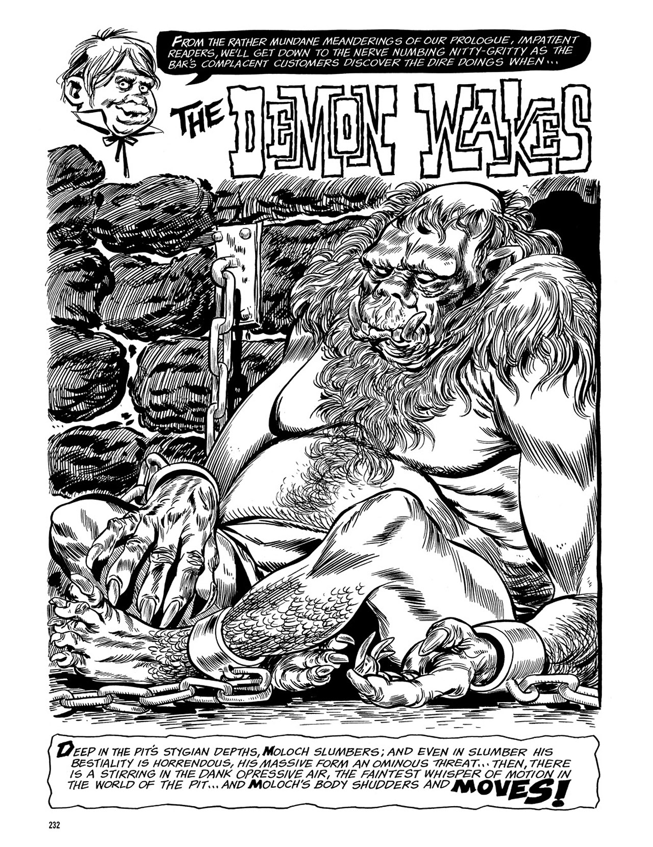 Read online Eerie Archives comic -  Issue # TPB 3 - 233