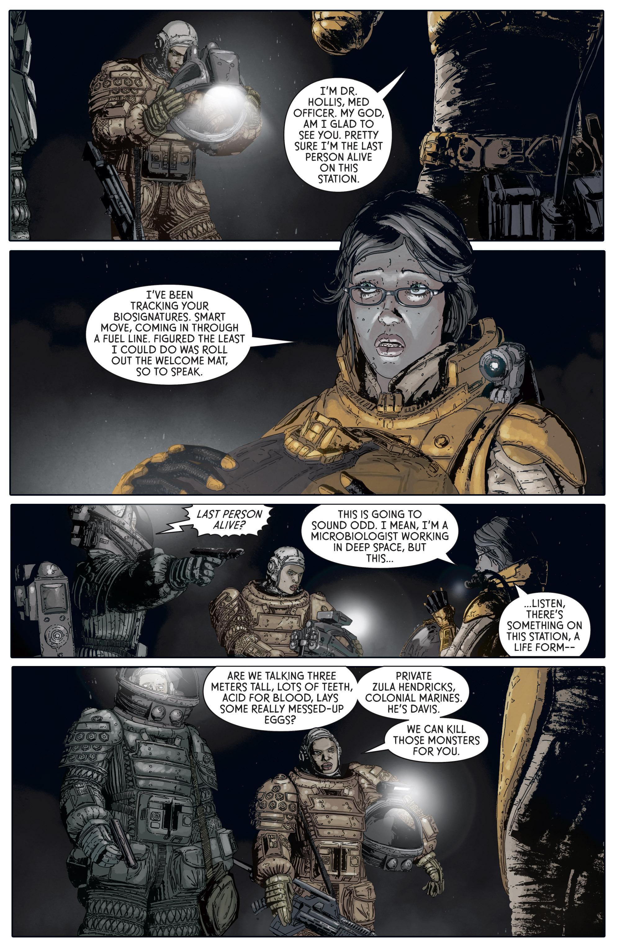 Read online Aliens: Defiance comic -  Issue #5 - 12