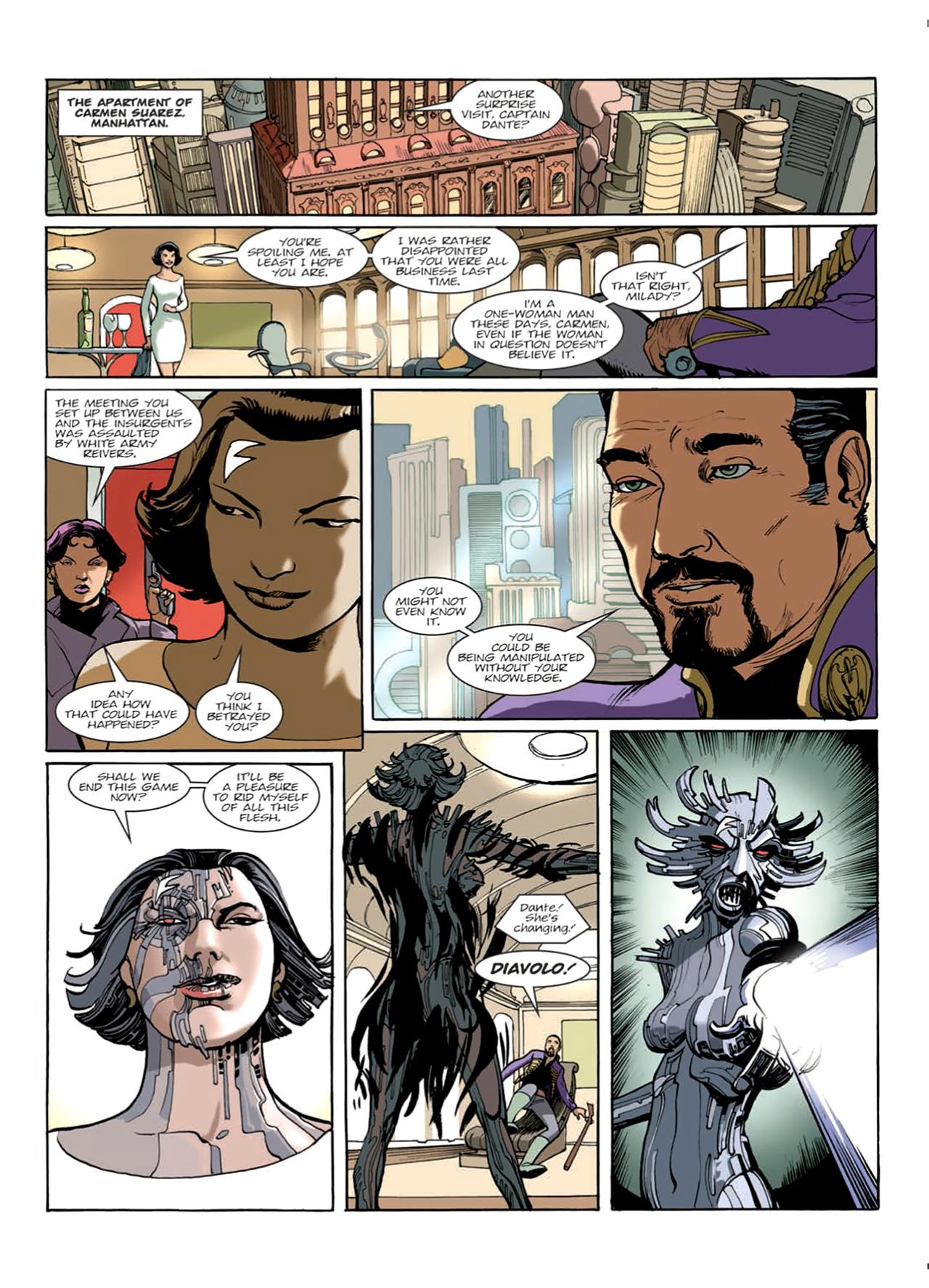 Read online Nikolai Dante comic -  Issue # TPB 9 - 45