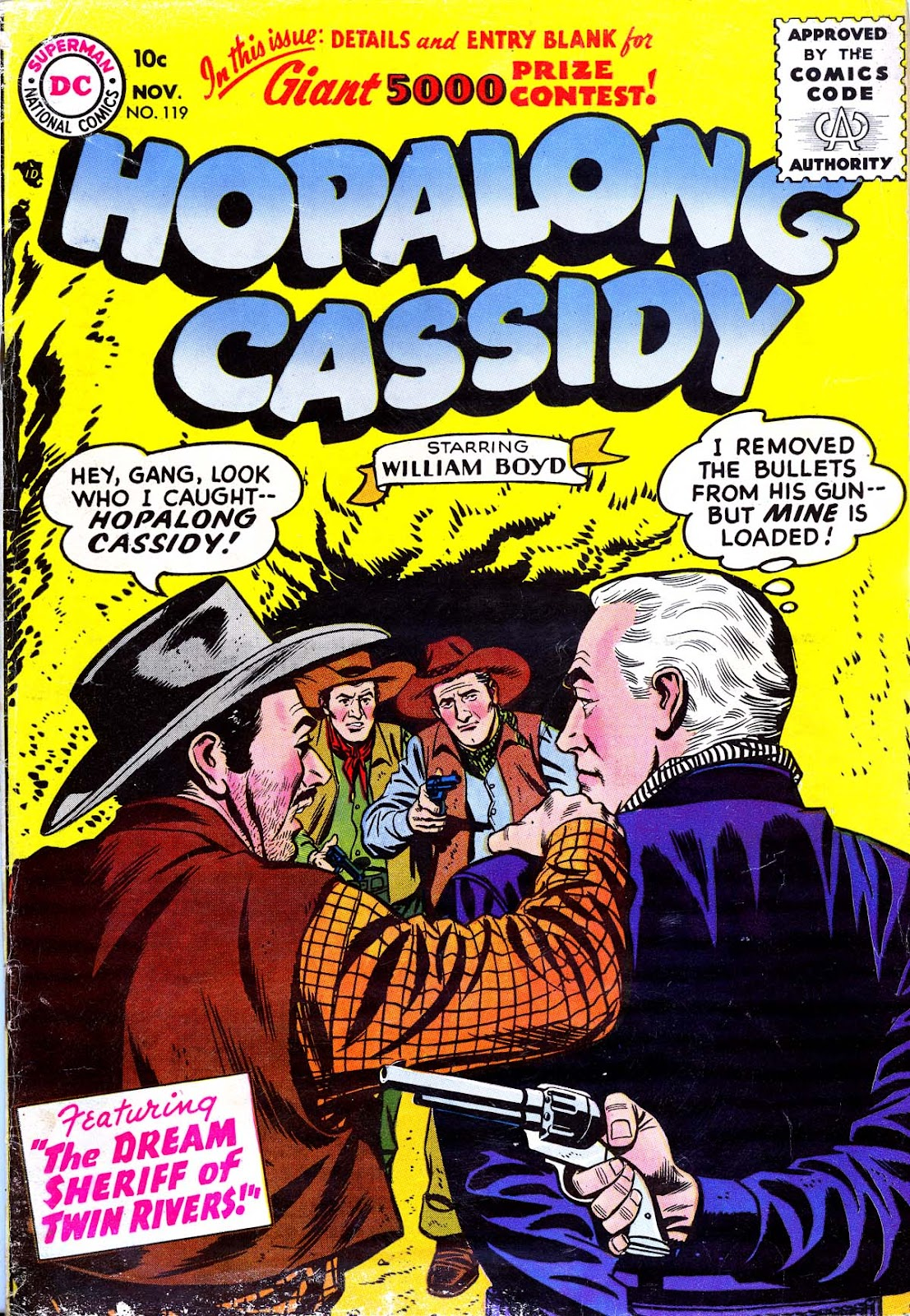Hopalong Cassidy issue 119 - Page 1